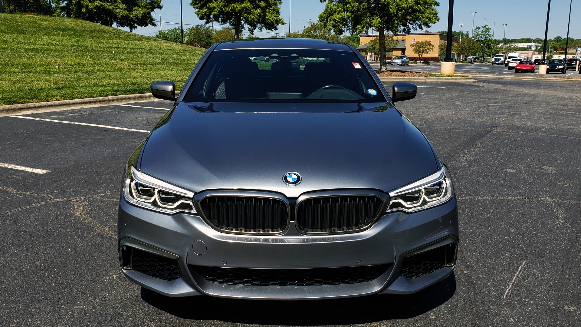 Used 2018 BMW 5 SERIES M550I XDRIVE / EXEC PKG / LUX / DRVR ASST / CLD WTHR / ACTIVE DR for sale Sold at Formula Imports in Charlotte NC 28227 23