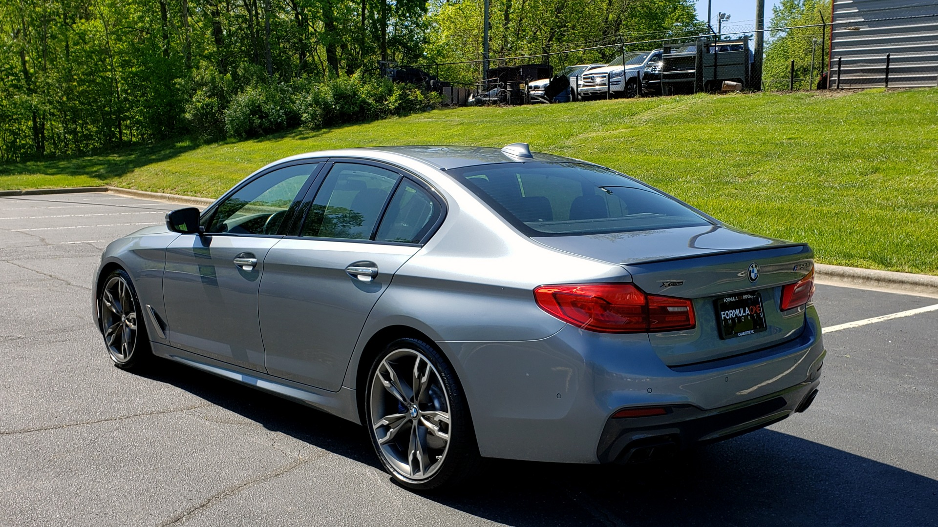 Used 2018 BMW 5 SERIES M550I XDRIVE / EXEC PKG / LUX / DRVR ASST / CLD WTHR / ACTIVE DR for sale Sold at Formula Imports in Charlotte NC 28227 3