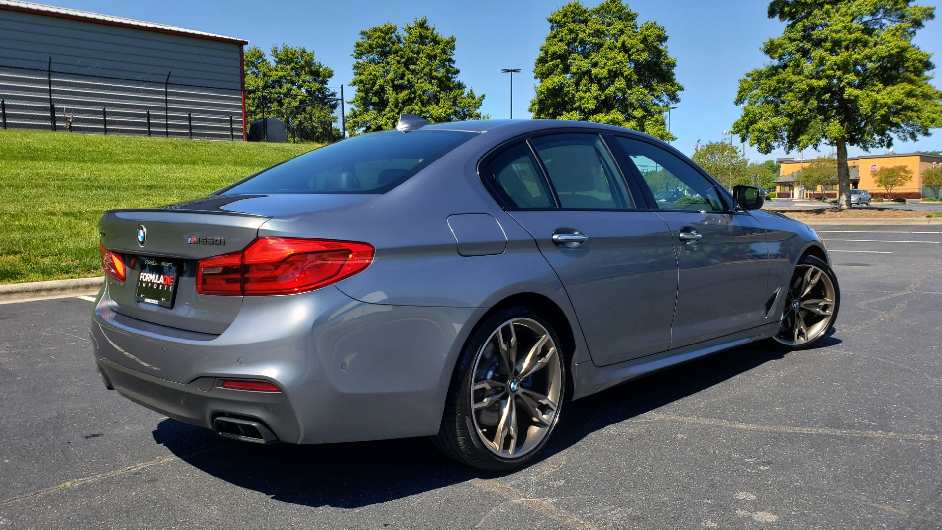 Used 2018 BMW 5 SERIES M550I XDRIVE / EXEC PKG / LUX / DRVR ASST / CLD WTHR / ACTIVE DR for sale Sold at Formula Imports in Charlotte NC 28227 6
