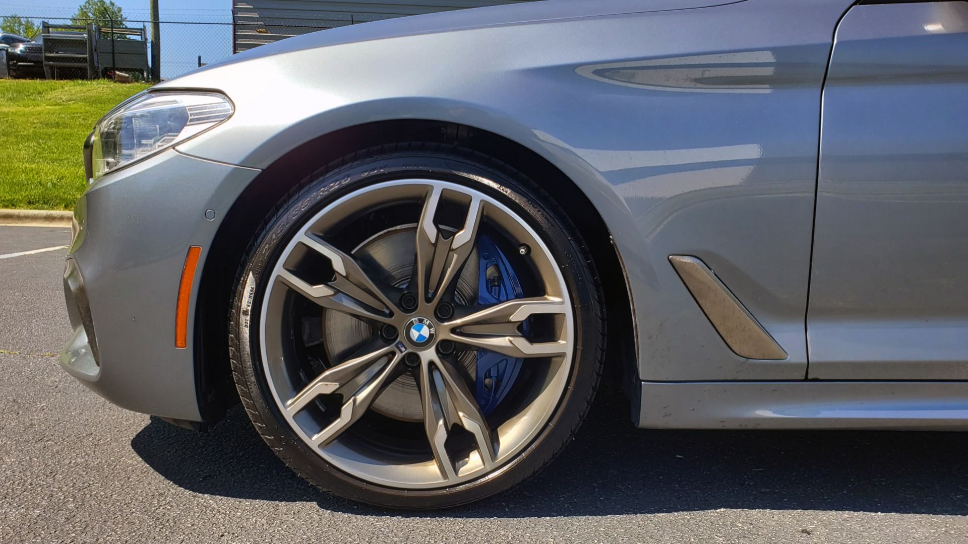 Used 2018 BMW 5 SERIES M550I XDRIVE / EXEC PKG / LUX / DRVR ASST / CLD WTHR / ACTIVE DR for sale Sold at Formula Imports in Charlotte NC 28227 86