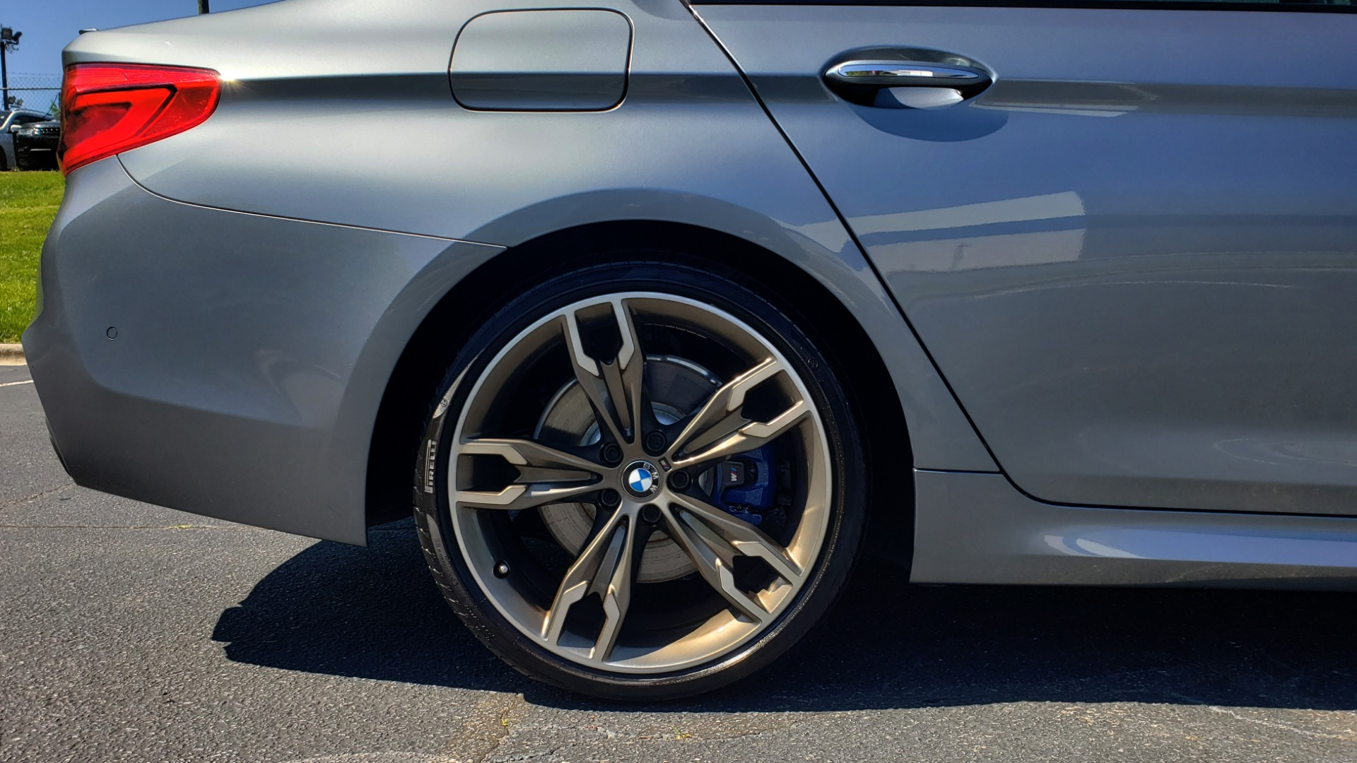 Used 2018 BMW 5 SERIES M550I XDRIVE / EXEC PKG / LUX / DRVR ASST / CLD WTHR / ACTIVE DR for sale Sold at Formula Imports in Charlotte NC 28227 88