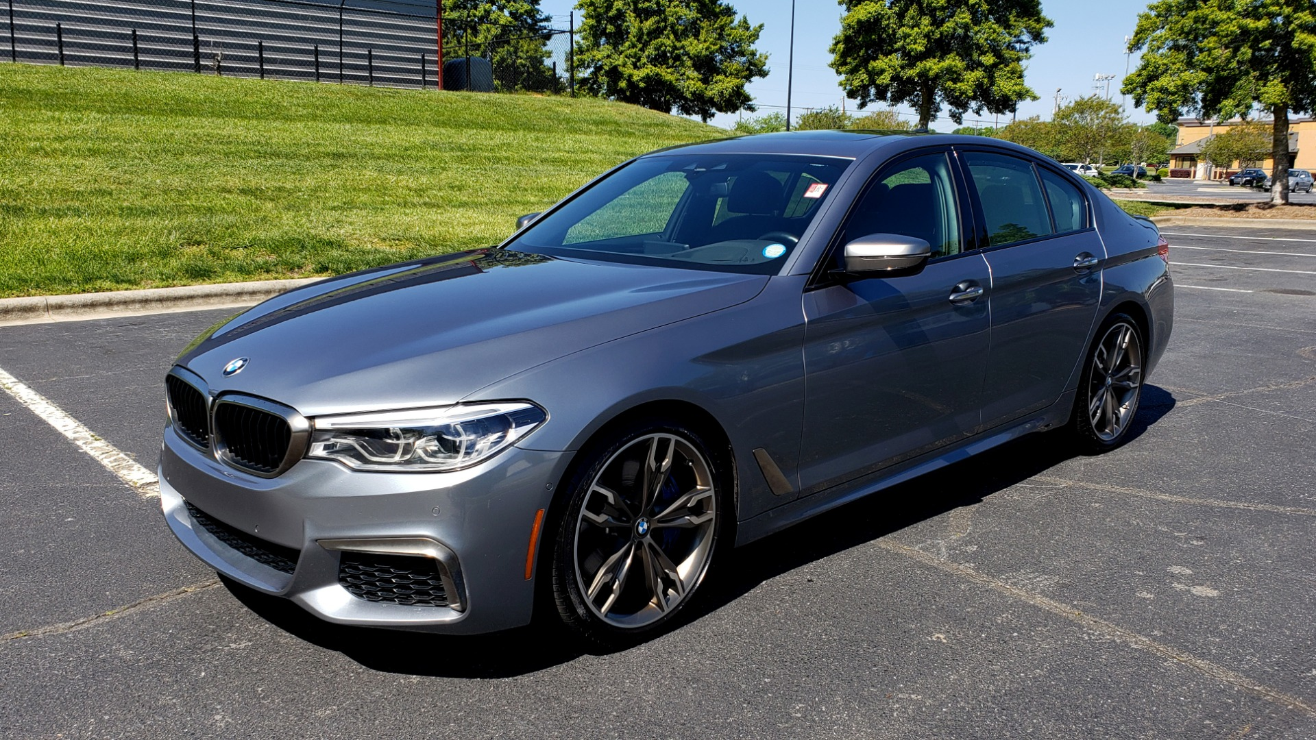 Used 2018 BMW 5 SERIES M550I XDRIVE / EXEC PKG / LUX / DRVR ASST / CLD WTHR / ACTIVE DR for sale Sold at Formula Imports in Charlotte NC 28227 1