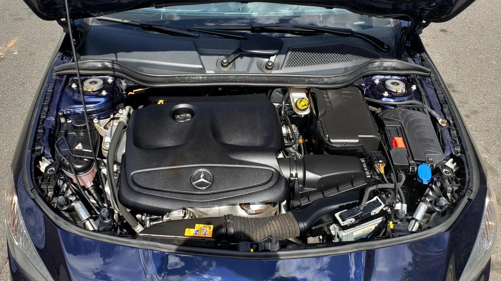 Used 2017 Mercedes-Benz CLA 250 PREMIUM / PANO-ROOF / HK SOUNDS / BSM / REARVIEW for sale Sold at Formula Imports in Charlotte NC 28227 10