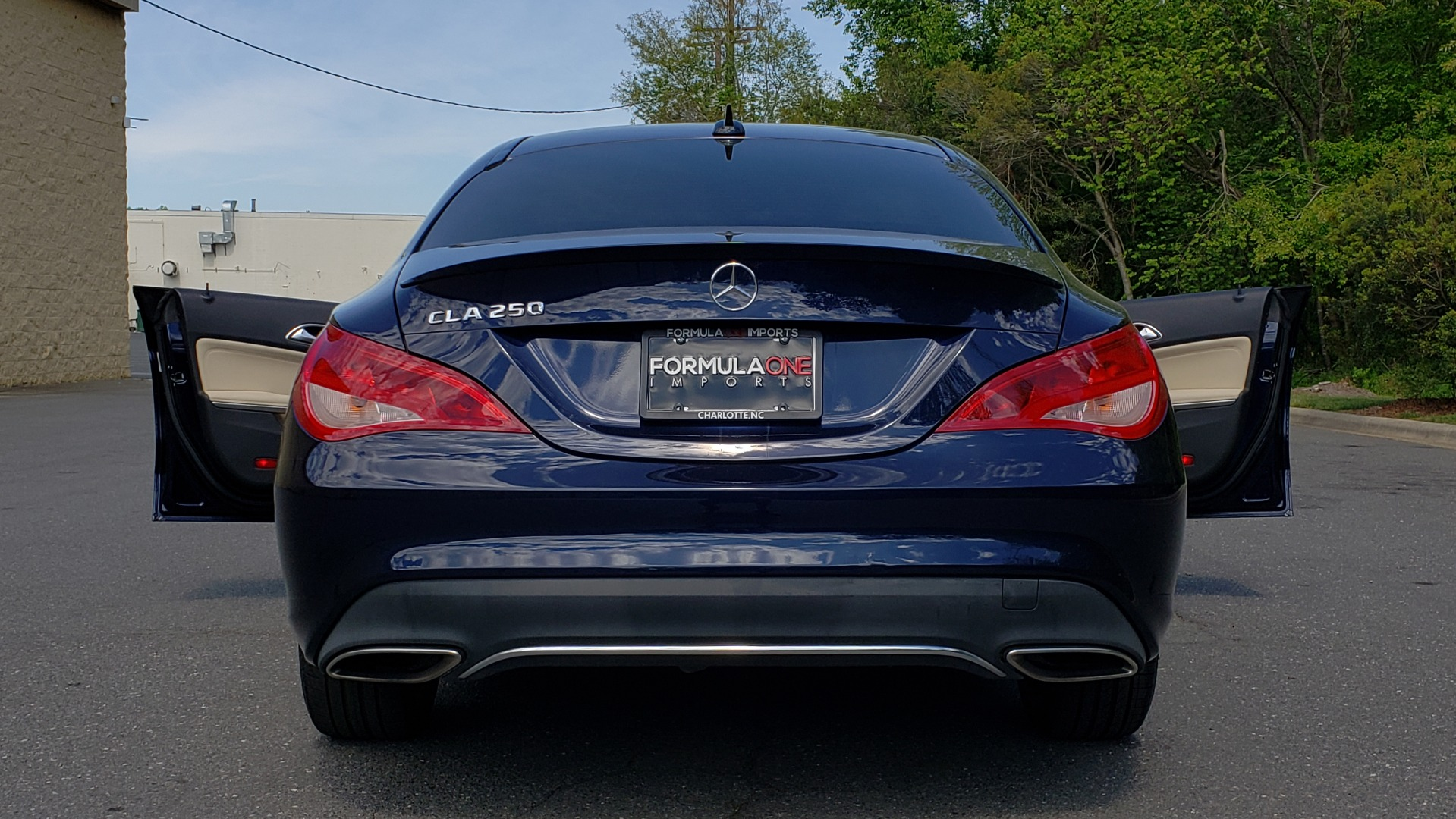 Used 2017 Mercedes-Benz CLA 250 PREMIUM / PANO-ROOF / HK SOUNDS / BSM / REARVIEW for sale Sold at Formula Imports in Charlotte NC 28227 23