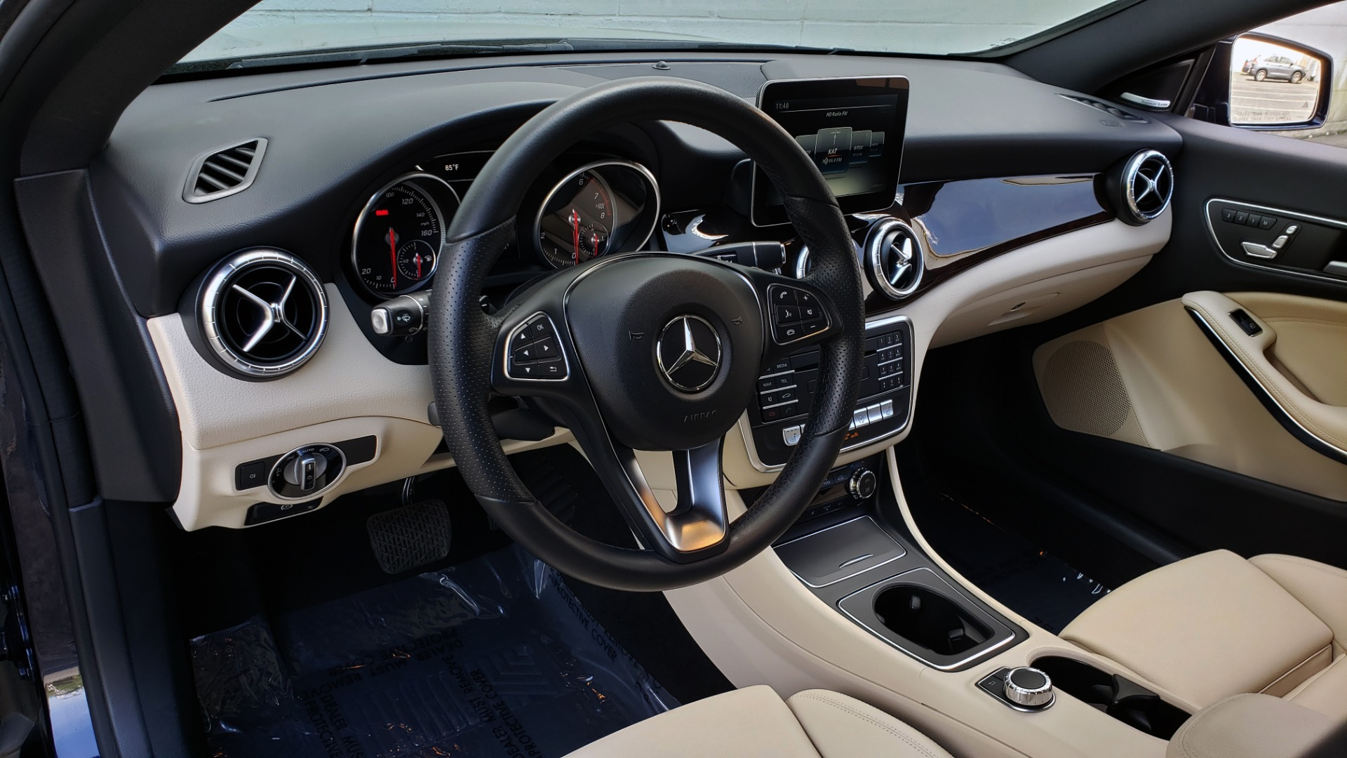 Used 2017 Mercedes-Benz CLA 250 PREMIUM / PANO-ROOF / HK SOUNDS / BSM / REARVIEW for sale Sold at Formula Imports in Charlotte NC 28227 32