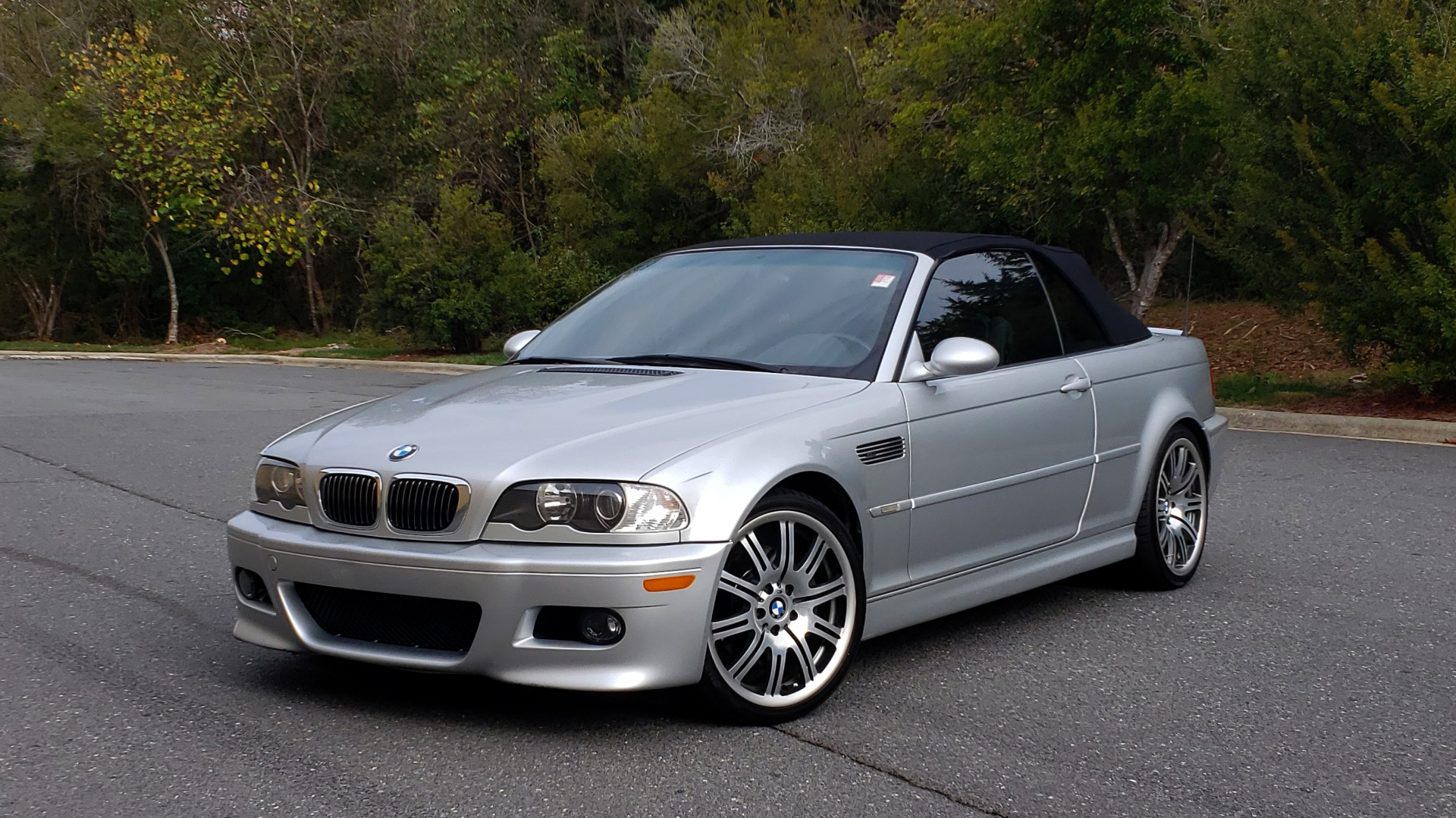 Used 2002 BMW M3 CONVERTIBLE / 6-SPD MAN / XENON / 19IN WHEELS for sale Sold at Formula Imports in Charlotte NC 28227 2
