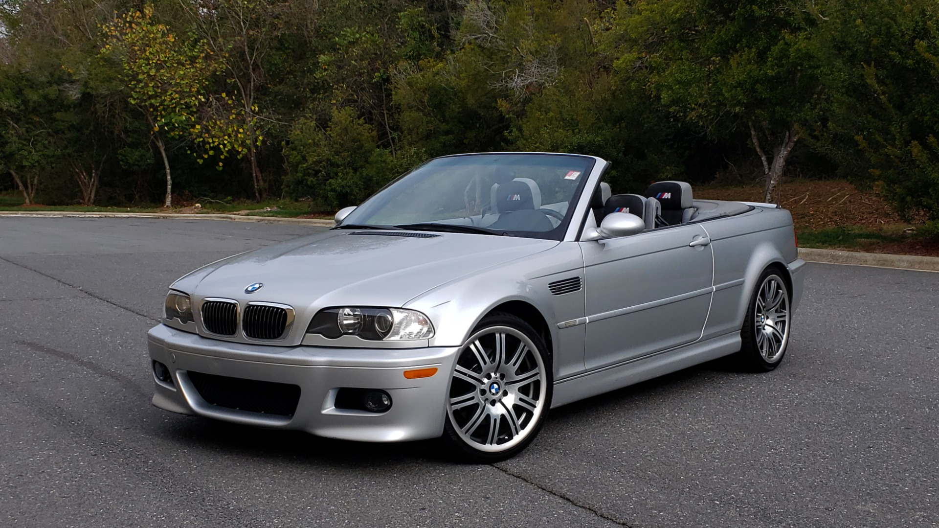 Used 2002 BMW M3 CONVERTIBLE / 6-SPD MAN / XENON / 19IN WHEELS for sale Sold at Formula Imports in Charlotte NC 28227 1
