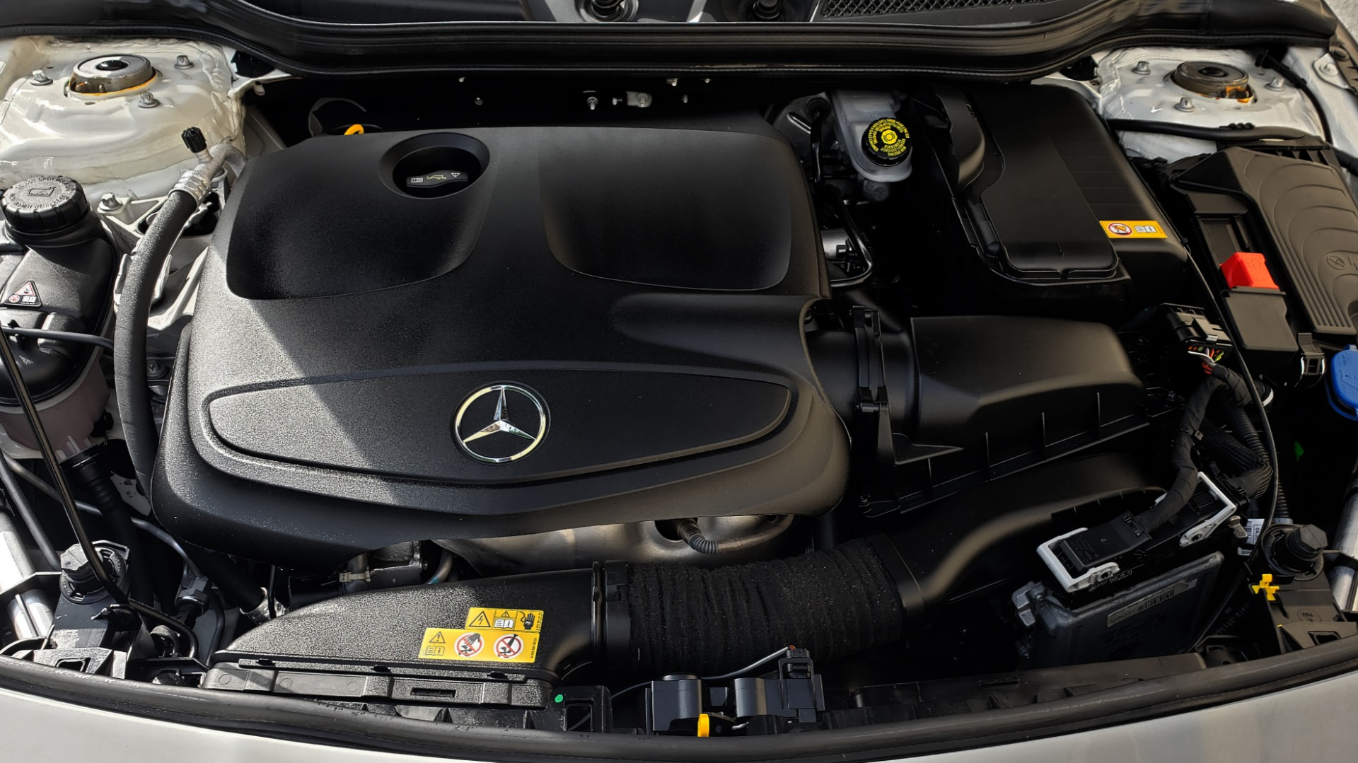 Used 2015 Mercedes-Benz CLA-Class CLA250 / FWD / SUNROOF / SPORT SUSP / CAMERA for sale Sold at Formula One Imports in Charlotte NC 28227 11