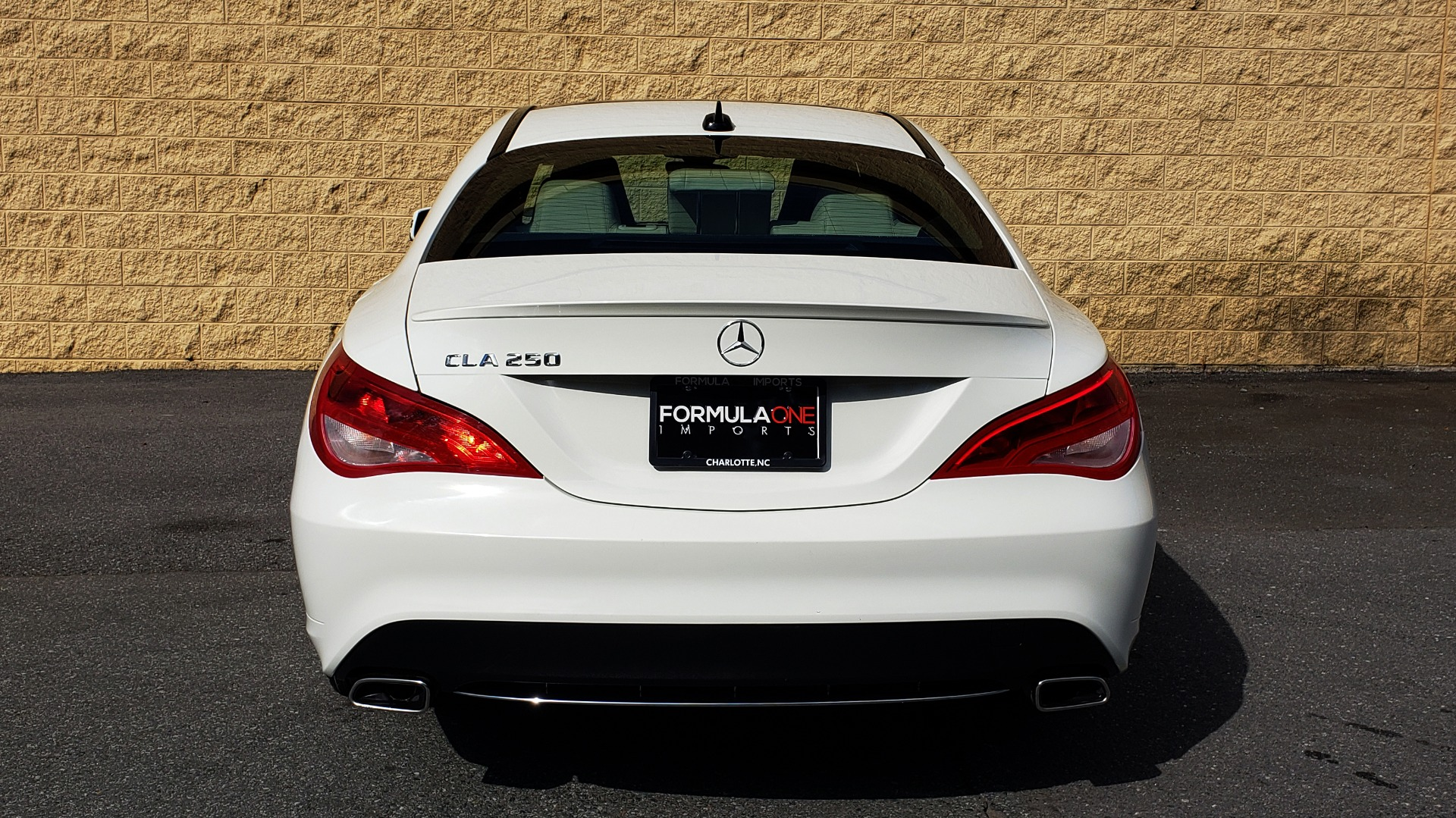 Used 2015 Mercedes-Benz CLA-Class CLA250 / FWD / SUNROOF / SPORT SUSP / CAMERA for sale Sold at Formula Imports in Charlotte NC 28227 21