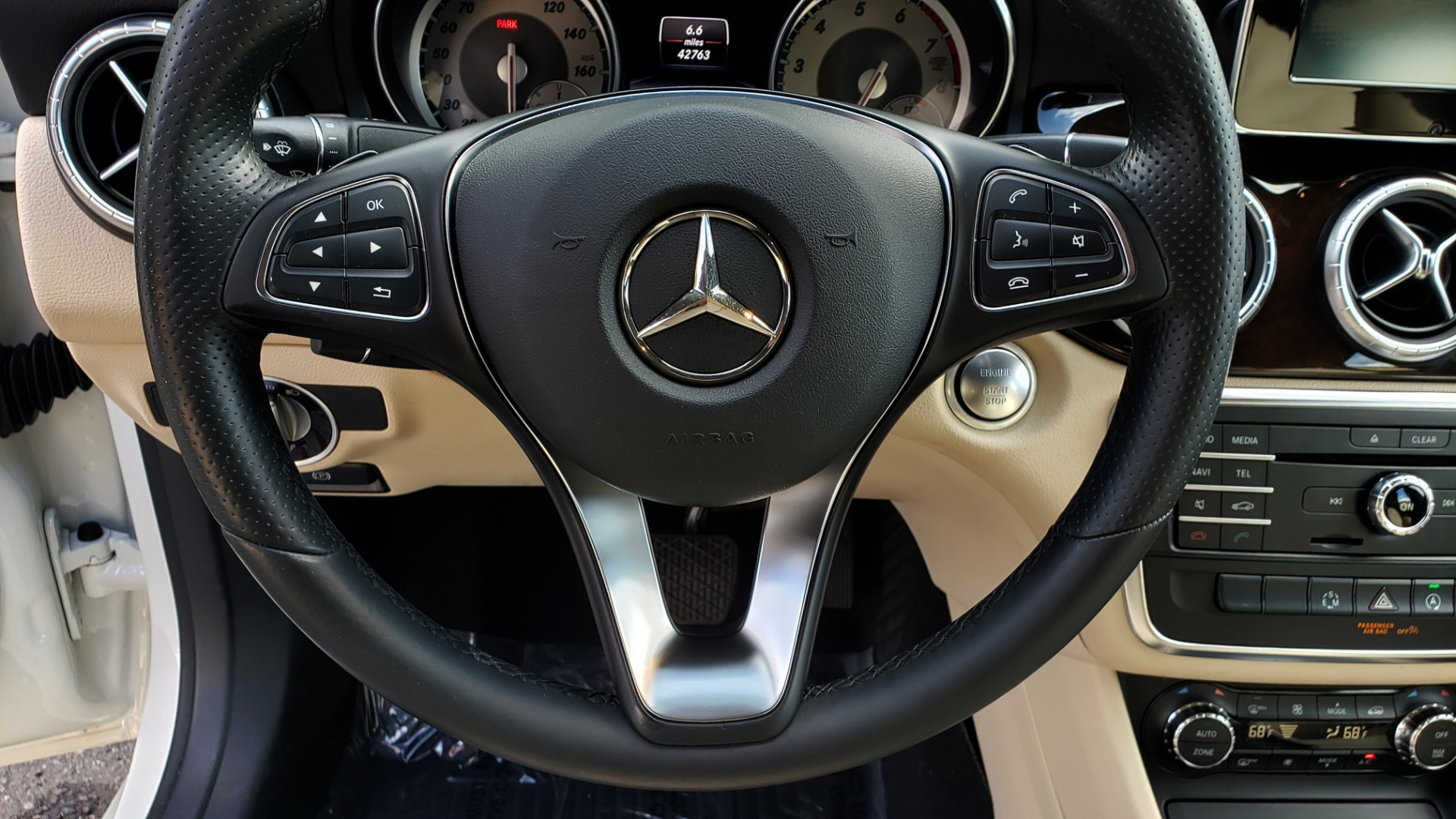 Used 2015 Mercedes-Benz CLA-Class CLA250 / FWD / SUNROOF / SPORT SUSP / CAMERA for sale Sold at Formula One Imports in Charlotte NC 28227 34