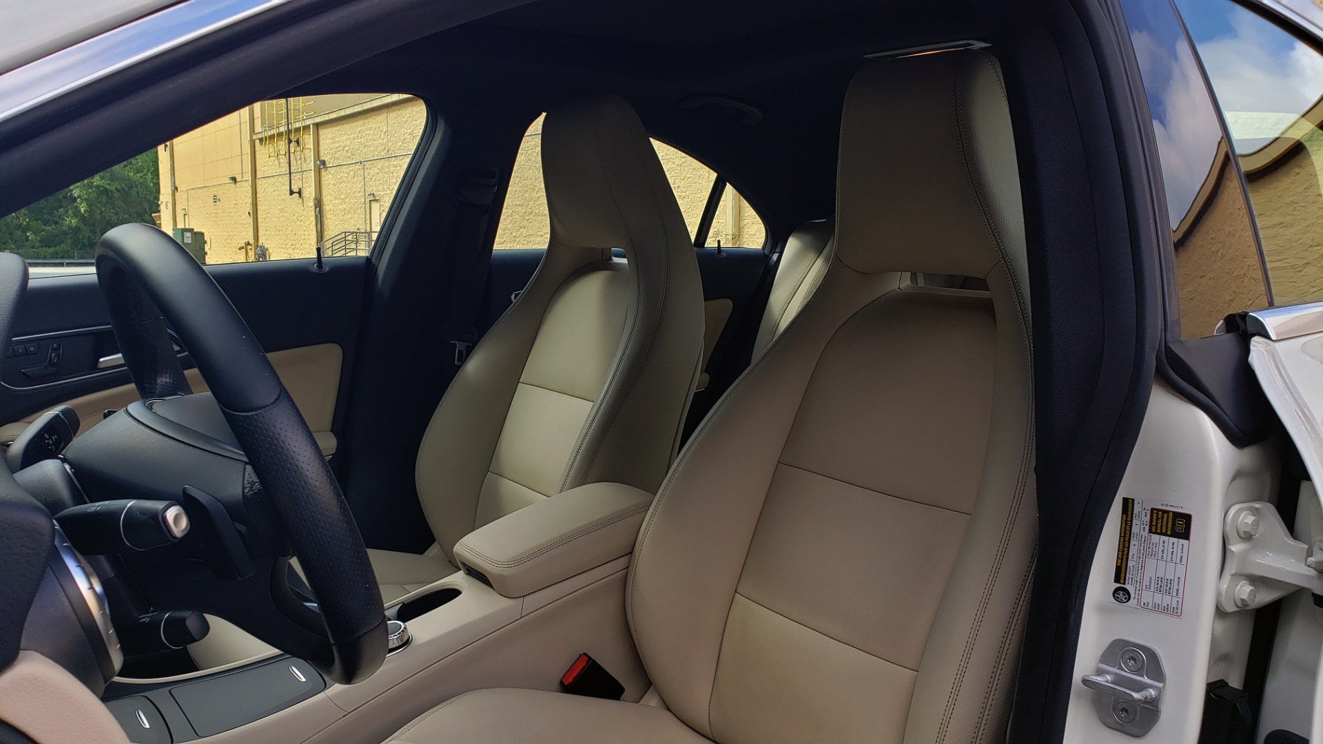 Used 2015 Mercedes-Benz CLA-Class CLA250 / FWD / SUNROOF / SPORT SUSP / CAMERA for sale Sold at Formula One Imports in Charlotte NC 28227 35