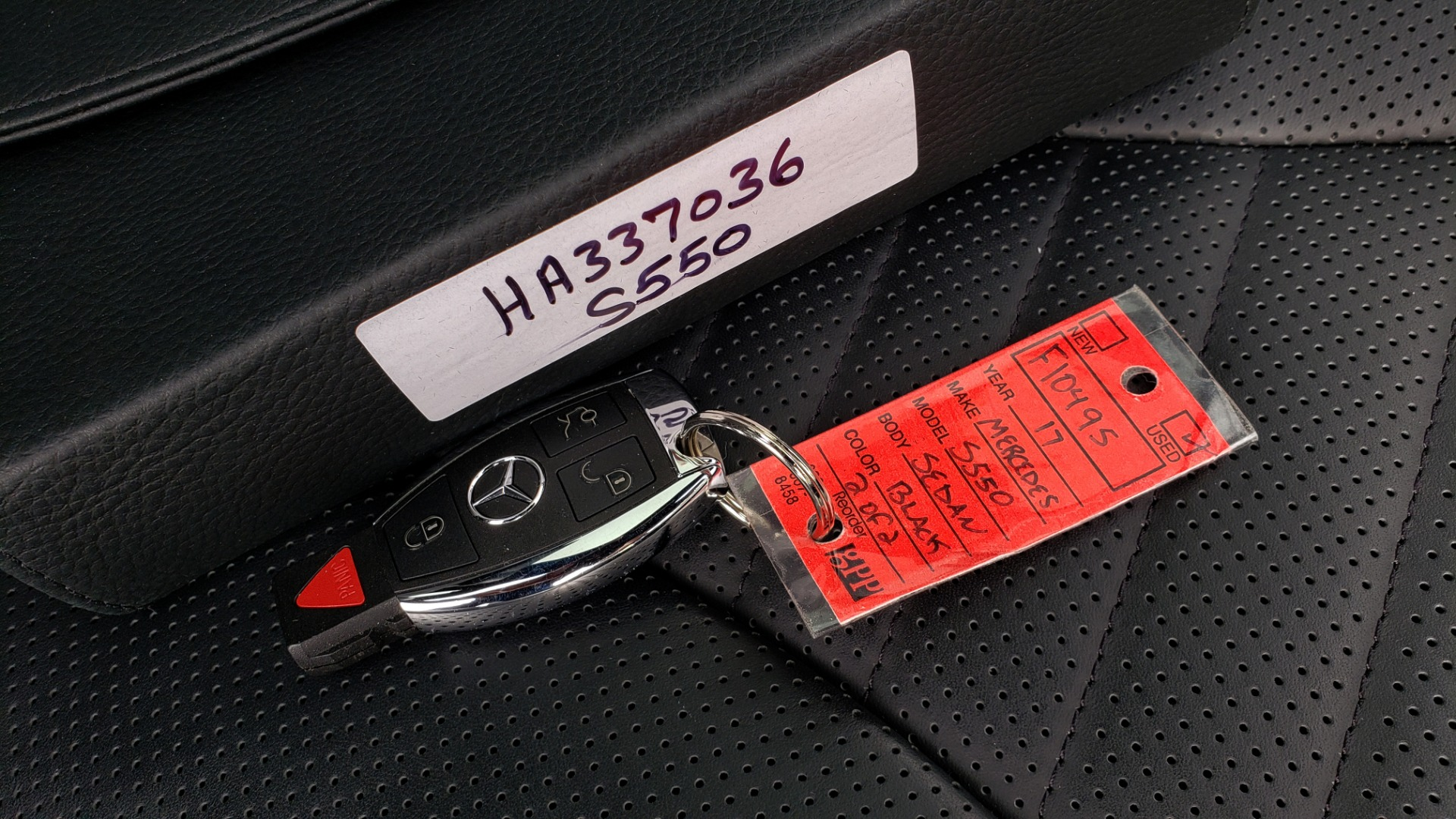 Used 2017 Mercedes-Benz S-CLASS S 550 4MATIC SPORT / PREM PKG / WARMTH & COMFORT / KEYLESS-GO for sale Sold at Formula Imports in Charlotte NC 28227 106