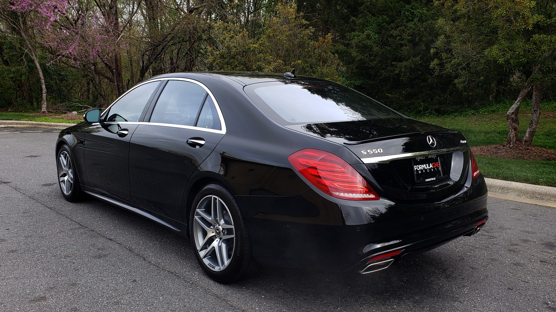 Used 2017 Mercedes-Benz S-CLASS S 550 4MATIC SPORT / PREM PKG / WARMTH & COMFORT / KEYLESS-GO for sale Sold at Formula Imports in Charlotte NC 28227 3