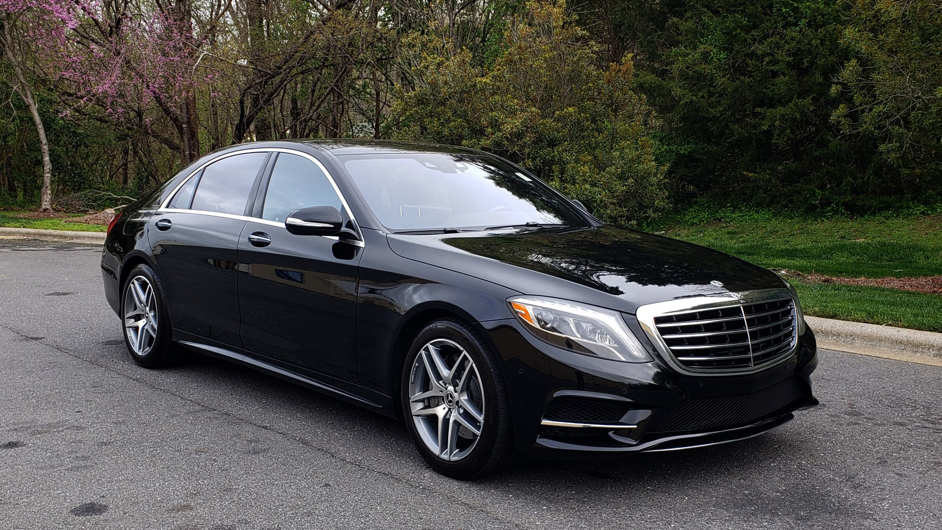 Used 2017 Mercedes-Benz S-CLASS S 550 4MATIC SPORT / PREM PKG / WARMTH & COMFORT / KEYLESS-GO for sale Sold at Formula Imports in Charlotte NC 28227 4