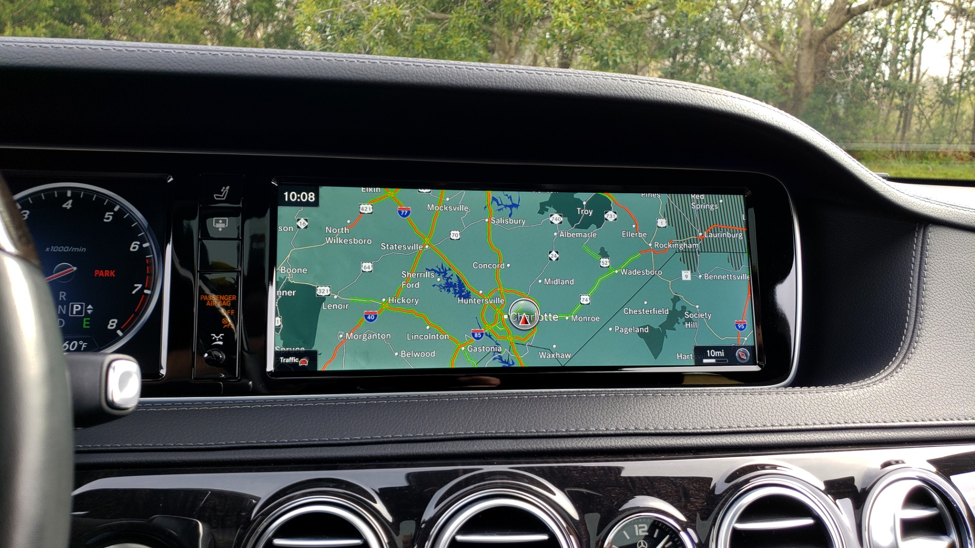 Used 2017 Mercedes-Benz S-CLASS S 550 4MATIC SPORT / PREM PKG / WARMTH & COMFORT / KEYLESS-GO for sale Sold at Formula Imports in Charlotte NC 28227 51