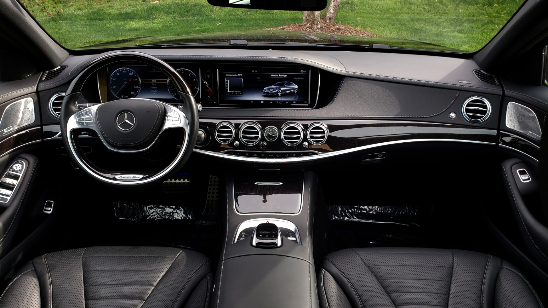 Used 2017 Mercedes-Benz S-CLASS S 550 4MATIC SPORT / PREM PKG / WARMTH & COMFORT / KEYLESS-GO for sale Sold at Formula Imports in Charlotte NC 28227 91
