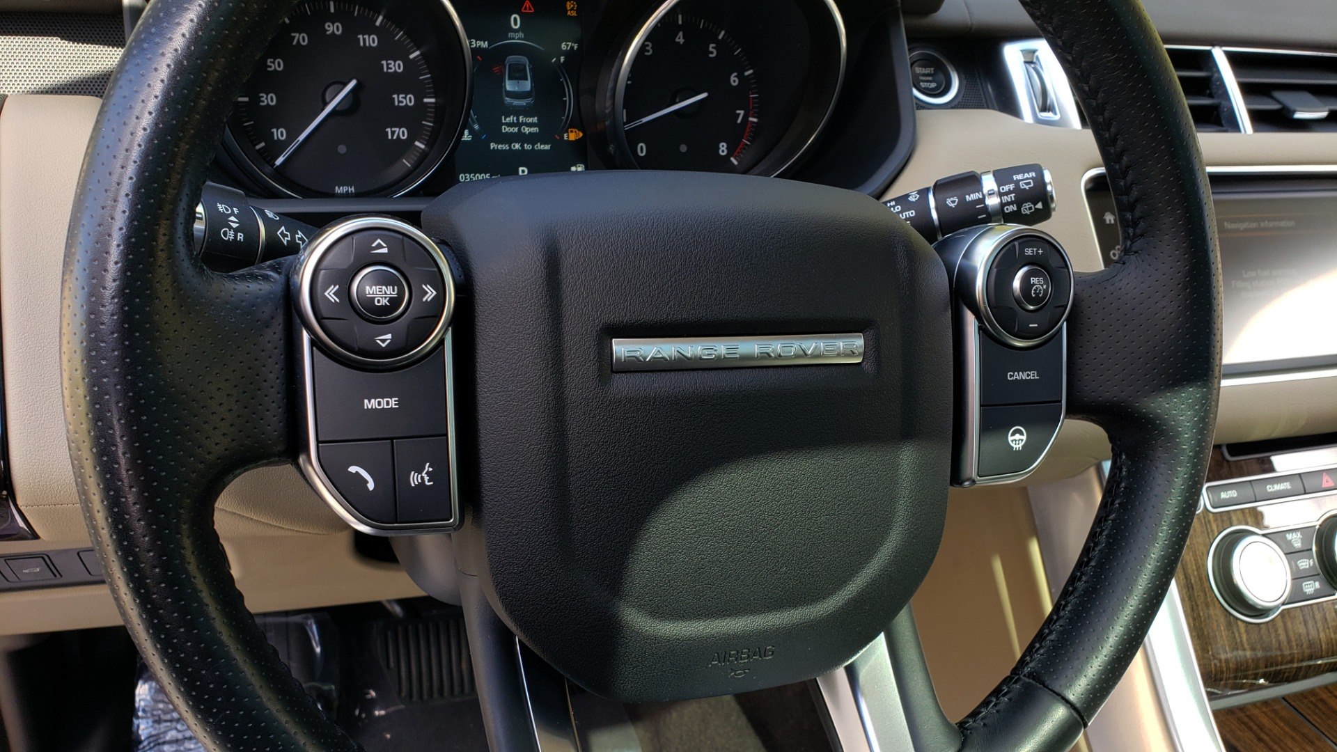 Used 2016 Land Rover RANGE ROVER SPORT SC V6 HSE / 4WD / NAV / PANO-ROOF / REARVIEW / CLIMATE & VISIBILITY for sale Sold at Formula Imports in Charlotte NC 28227 43