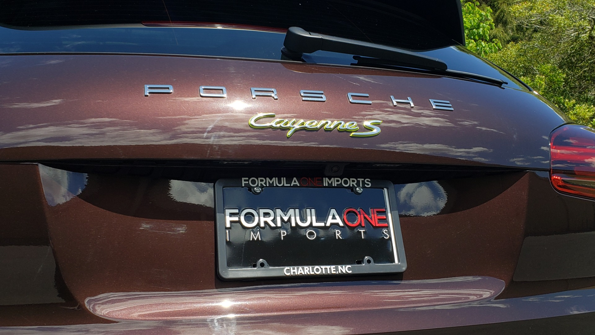 Used 2017 Porsche CAYENNE S E-HYBRID PLATINUM EDITION for sale Sold at Formula Imports in Charlotte NC 28227 33