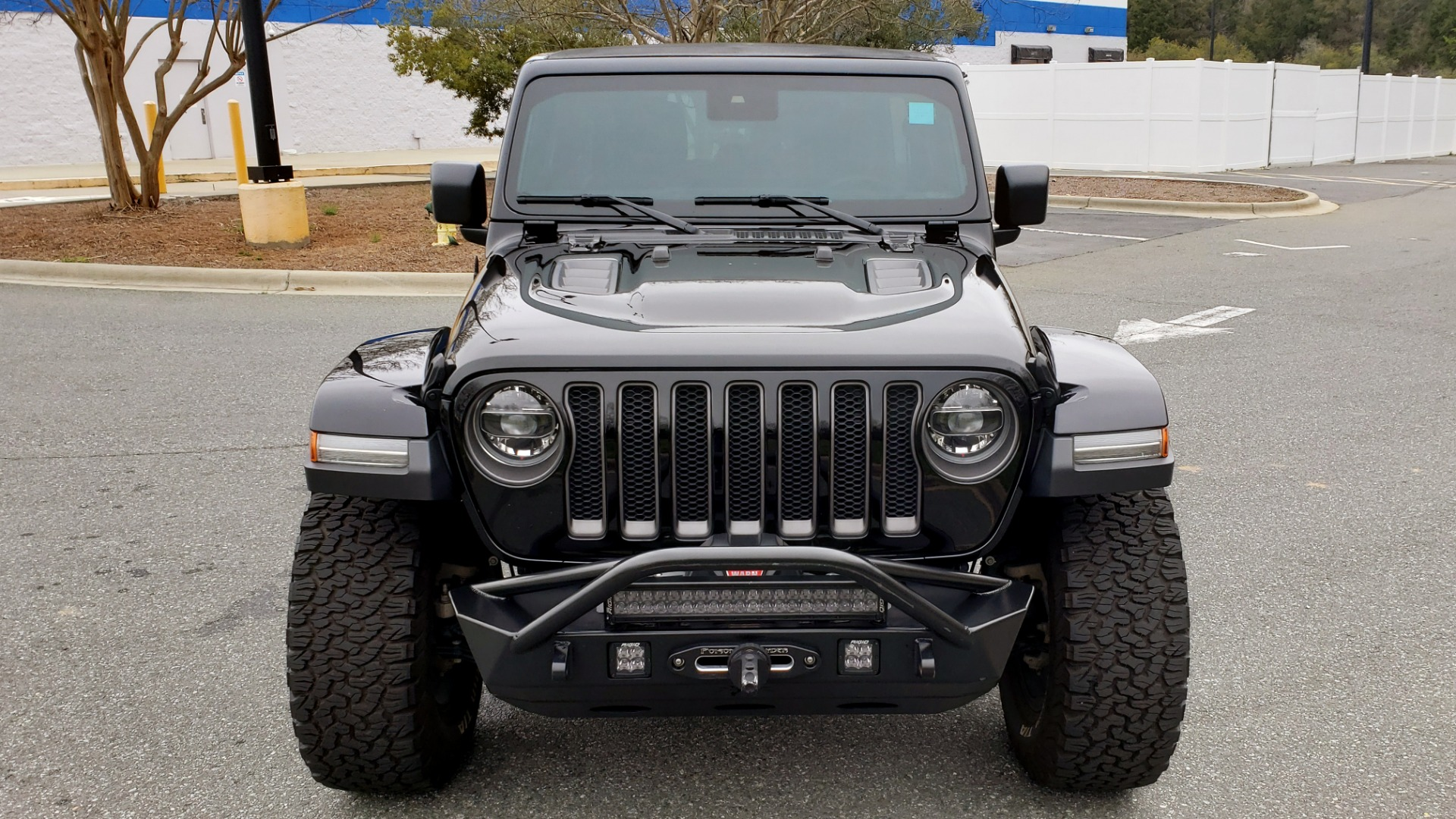 Used 2019 Jeep WRANGLER UNLIMITED RUBICON 4WD / V6 / 8-SPD AUTO / NAV / PWR TOP / REARVIEW for sale Sold at Formula Imports in Charlotte NC 28227 23