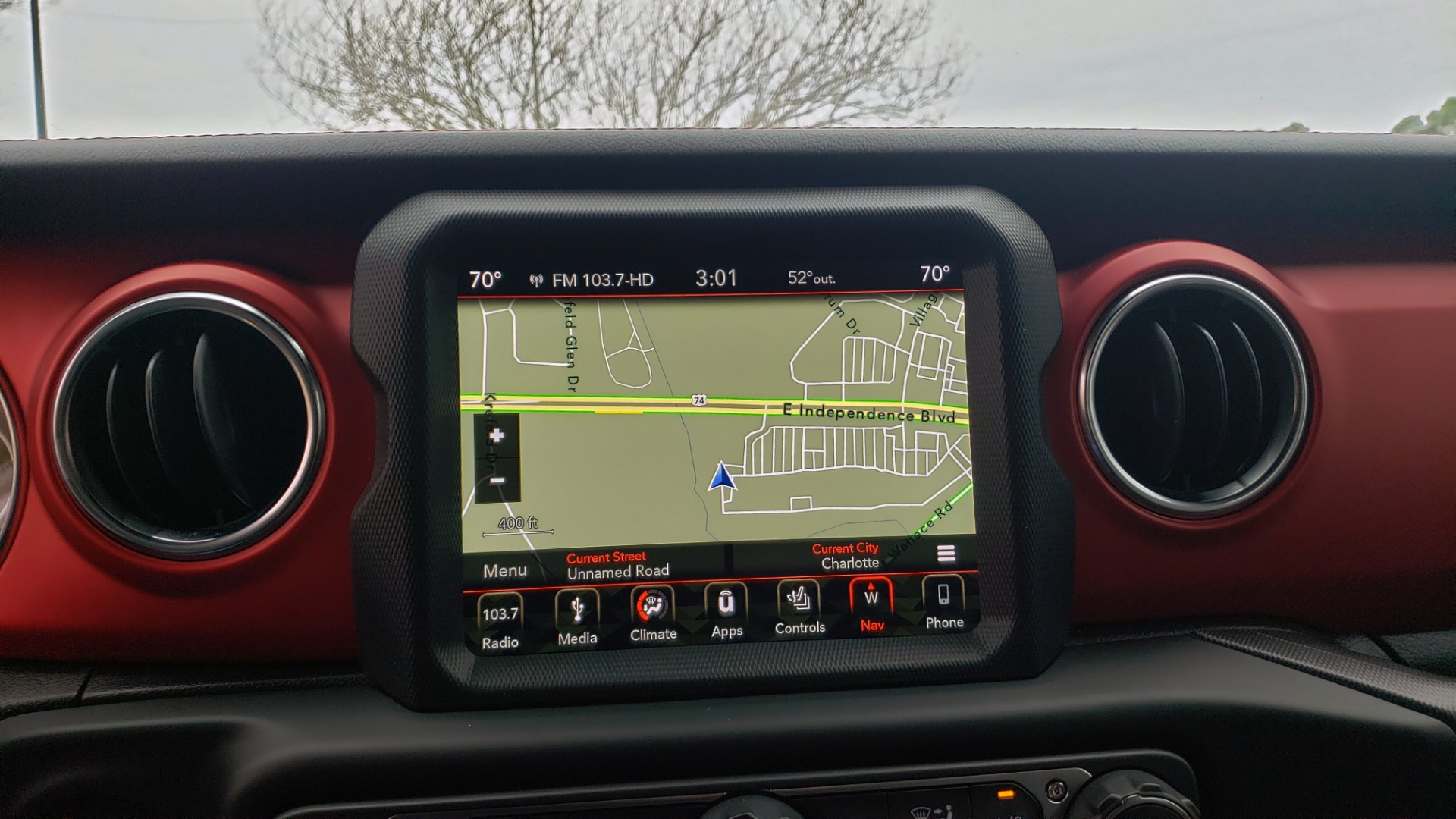 Used 2019 Jeep WRANGLER UNLIMITED RUBICON 4WD / V6 / 8-SPD AUTO / NAV / PWR TOP / REARVIEW for sale Sold at Formula Imports in Charlotte NC 28227 65