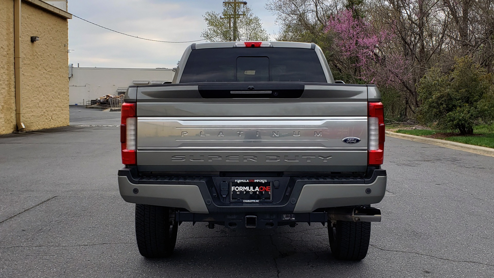 Used 2019 Ford SUPER DUTY F-250 SRW PLATINUM ULTIMATE / NAV / PANO-ROOF / REARVIEW for sale Sold at Formula Imports in Charlotte NC 28227 18