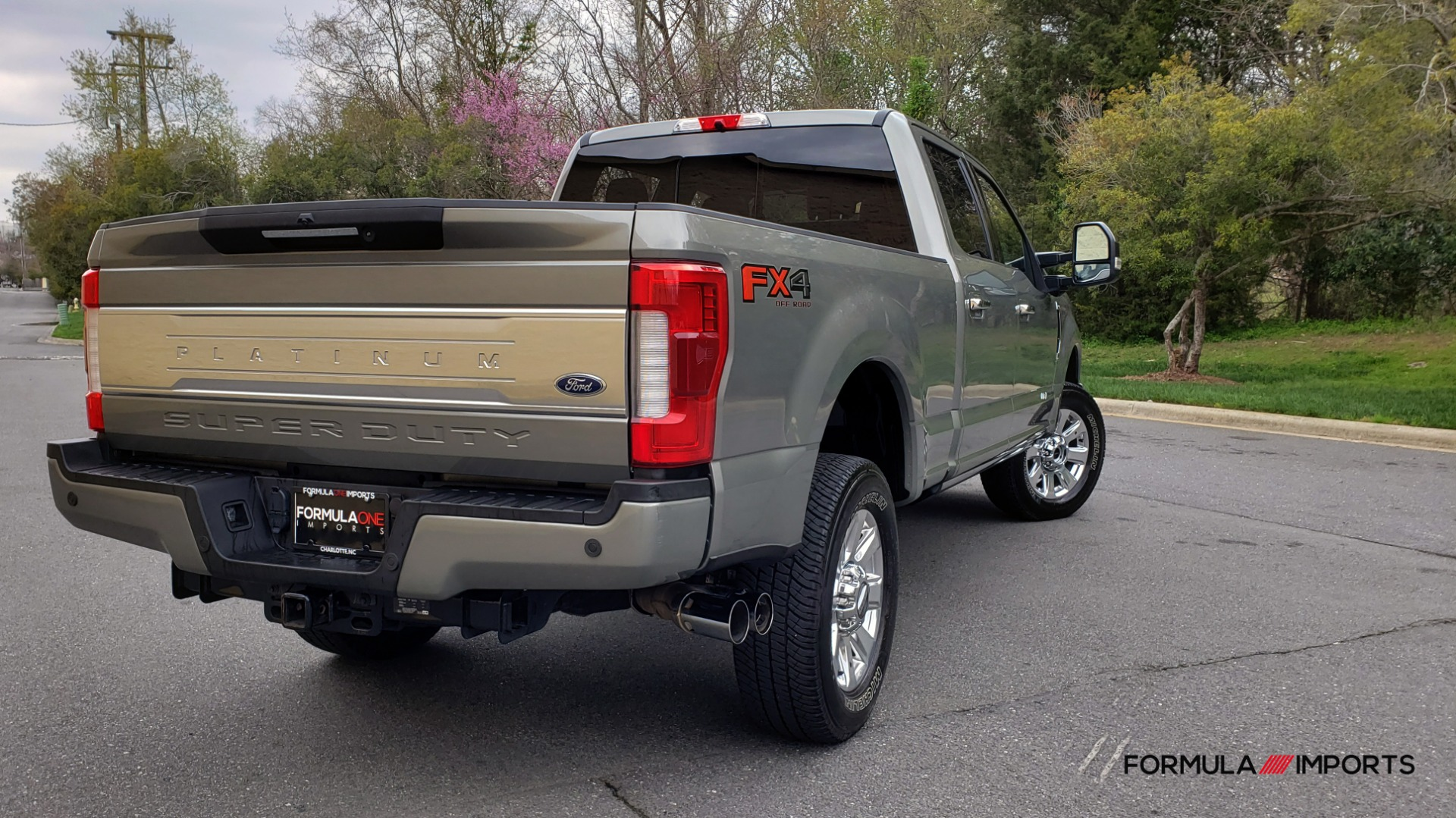 Used 2019 Ford SUPER DUTY F-250 SRW PLATINUM ULTIMATE / NAV / PANO-ROOF / REARVIEW for sale Sold at Formula Imports in Charlotte NC 28227 6
