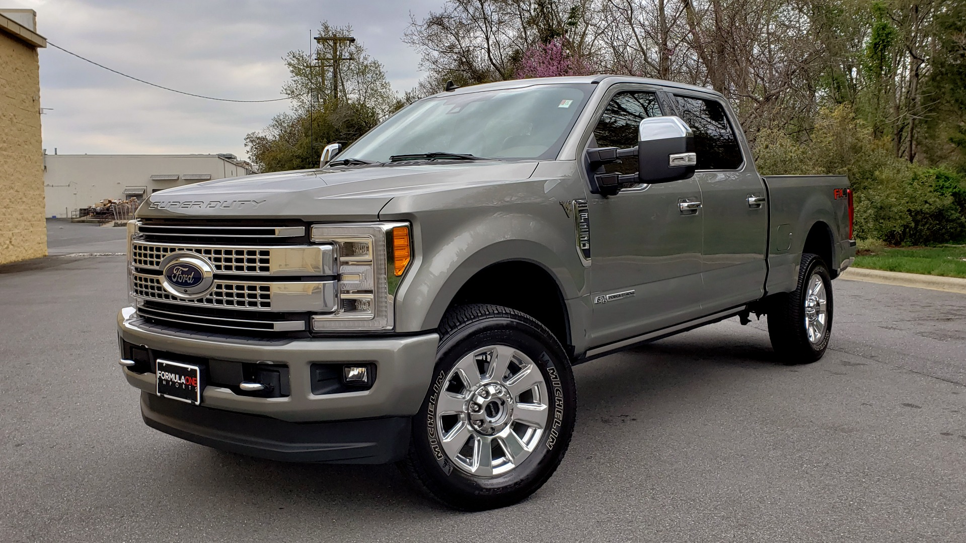 Used 2019 Ford SUPER DUTY F-250 SRW PLATINUM ULTIMATE / NAV / PANO-ROOF / REARVIEW for sale Sold at Formula Imports in Charlotte NC 28227 1