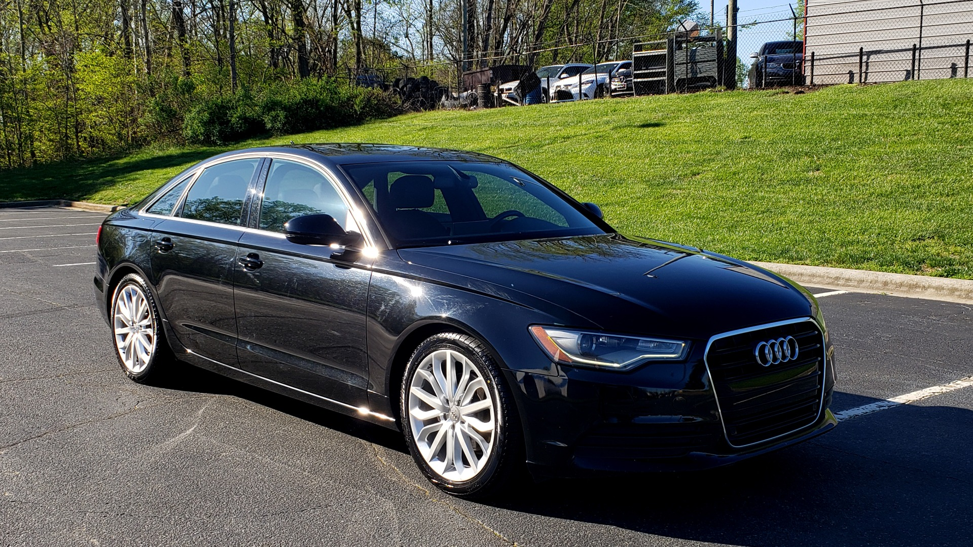Used 2012 Audi A6 2.0T PREMIUM PLUS / NAV / SNRF / CVT TRANS / REARVIEW for sale Sold at Formula Imports in Charlotte NC 28227 11