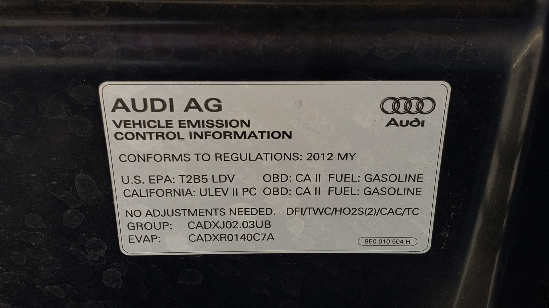 Used 2012 Audi A6 2.0T PREMIUM PLUS / NAV / SNRF / CVT TRANS / REARVIEW for sale Sold at Formula Imports in Charlotte NC 28227 16