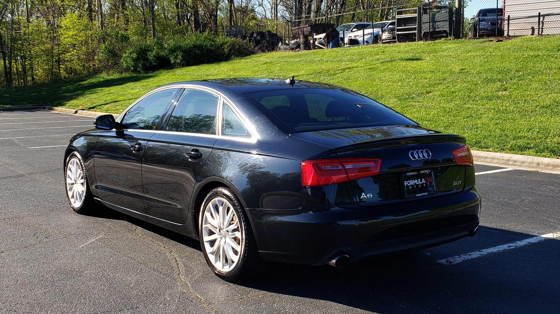 Used 2012 Audi A6 2.0T PREMIUM PLUS / NAV / SNRF / CVT TRANS / REARVIEW for sale Sold at Formula Imports in Charlotte NC 28227 3