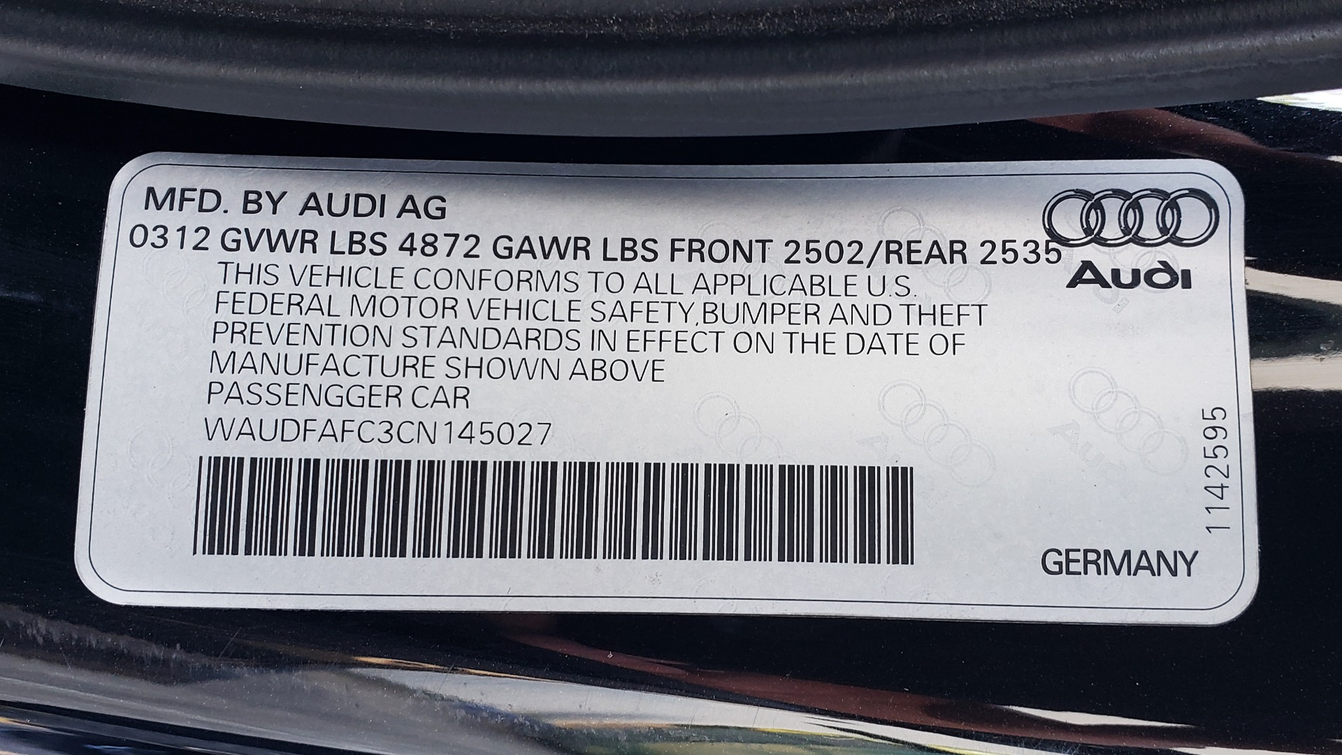 Used 2012 Audi A6 2.0T PREMIUM PLUS / NAV / SNRF / CVT TRANS / REARVIEW for sale Sold at Formula Imports in Charlotte NC 28227 85