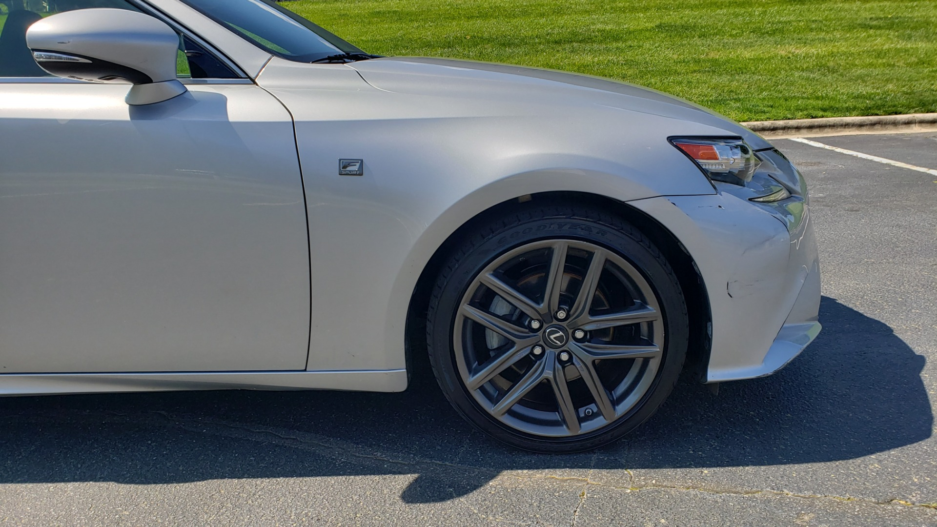 Used 2015 Lexus IS 250 F-SPORT / BSM / SUNROOF / VENT SEATS / REARVIEW for sale Sold at Formula Imports in Charlotte NC 28227 12