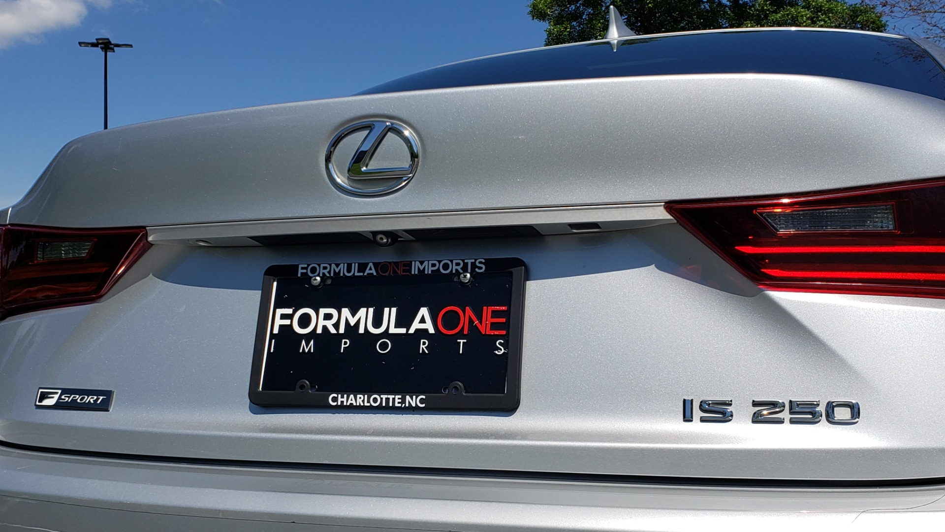 Used 2015 Lexus IS 250 F-SPORT / BSM / SUNROOF / VENT SEATS / REARVIEW for sale Sold at Formula Imports in Charlotte NC 28227 21