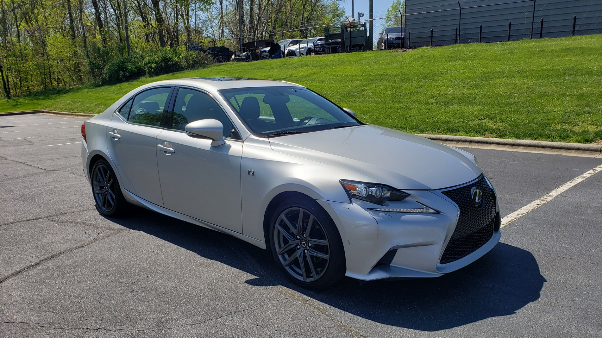 Used 2015 Lexus IS 250 F-SPORT / BSM / SUNROOF / VENT SEATS / REARVIEW for sale Sold at Formula Imports in Charlotte NC 28227 4