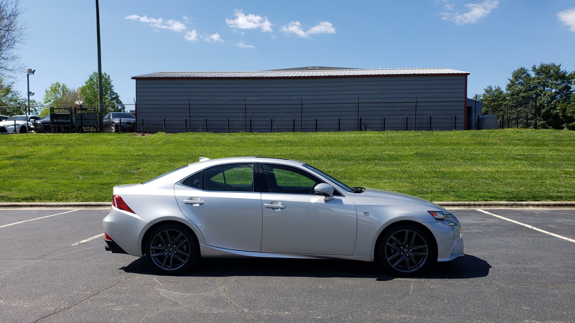 Used 2015 Lexus IS 250 F-SPORT / BSM / SUNROOF / VENT SEATS / REARVIEW for sale Sold at Formula Imports in Charlotte NC 28227 5