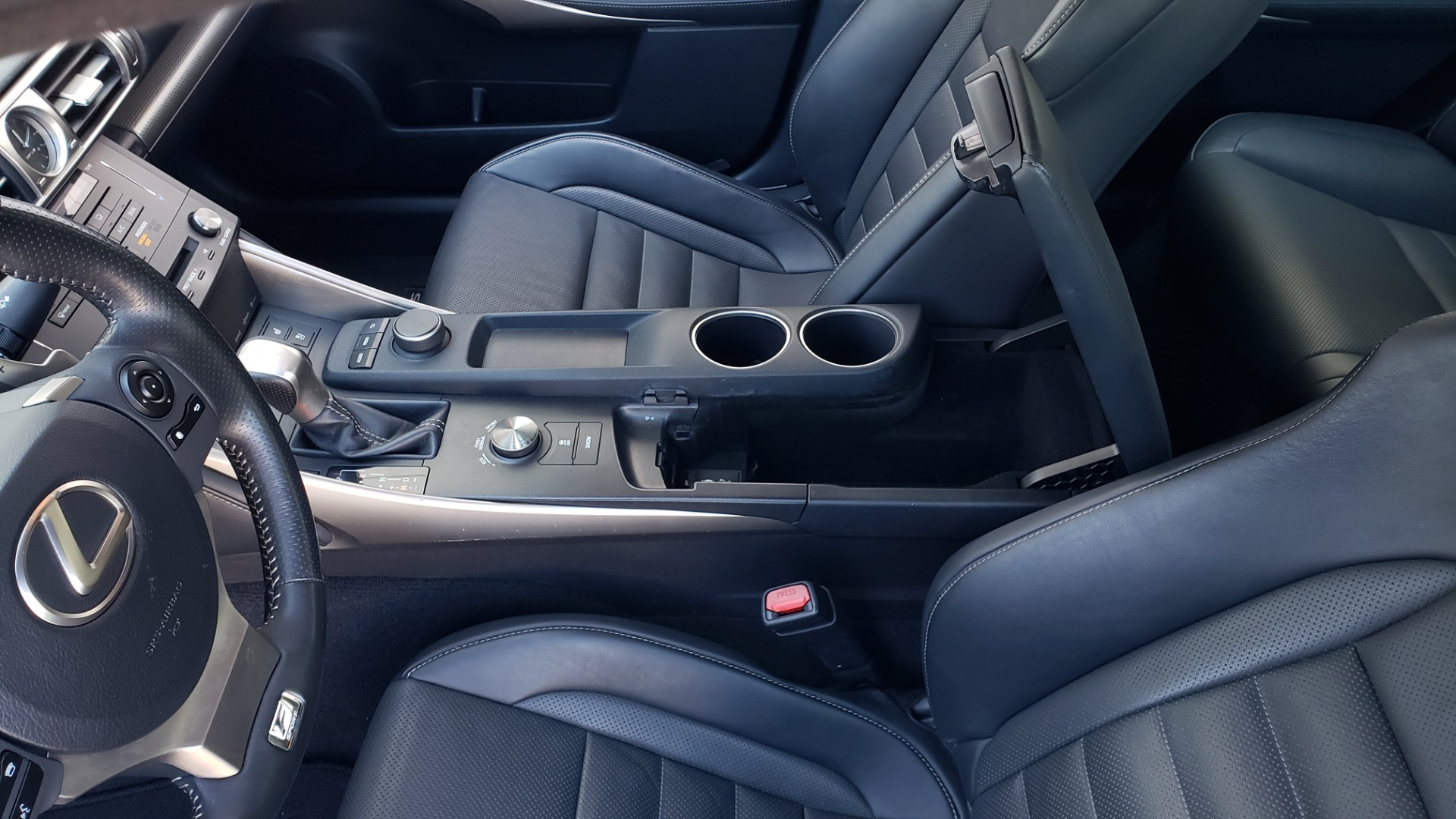 Used 2015 Lexus IS 250 F-SPORT / BSM / SUNROOF / VENT SEATS / REARVIEW for sale Sold at Formula Imports in Charlotte NC 28227 55