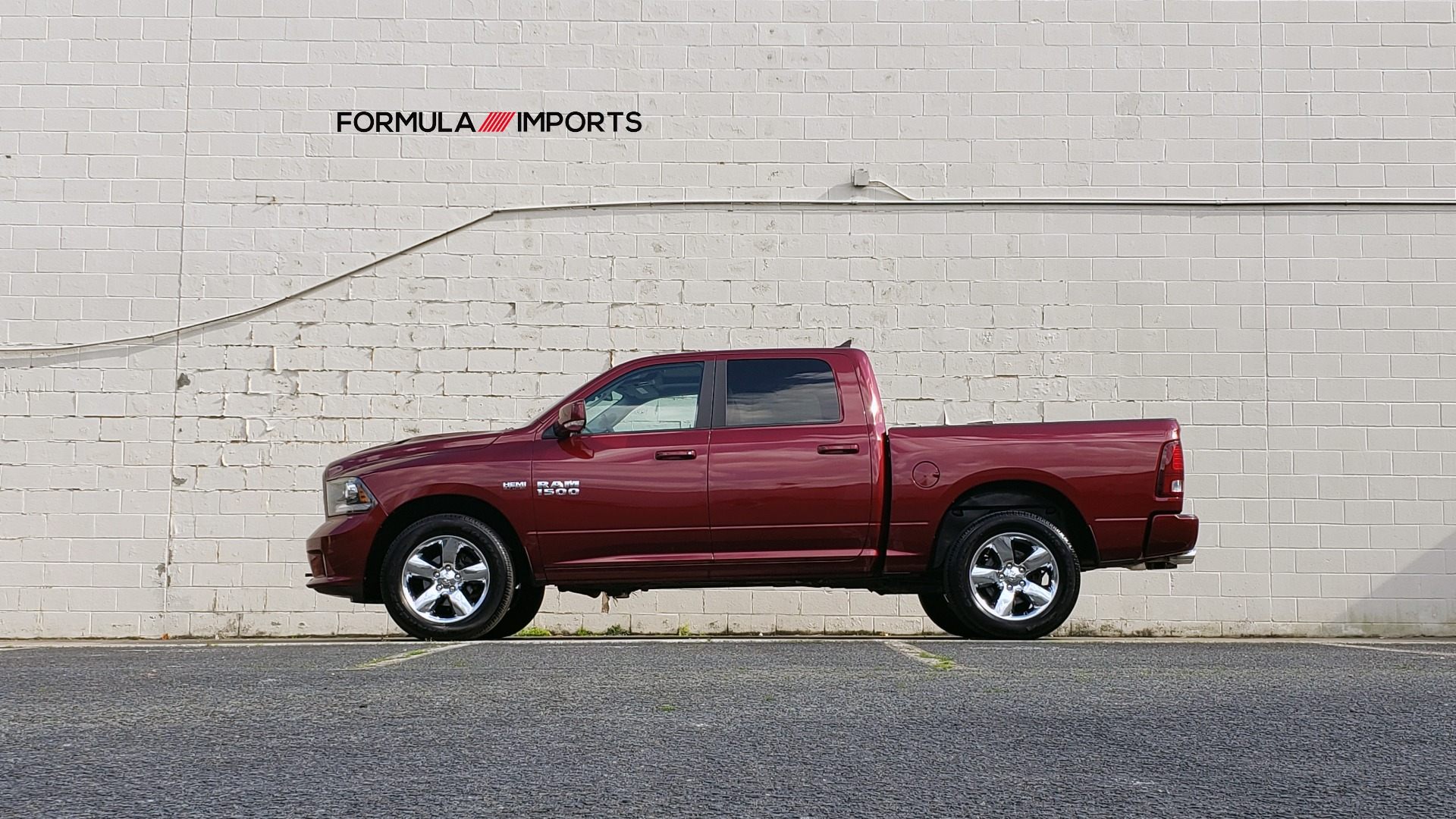 Used 2017 Ram 1500 SPORT CREW CAB 4X4 / NAV / ALPINE / SUNROOF / VENT STS / REARVIEW for sale Sold at Formula Imports in Charlotte NC 28227 92