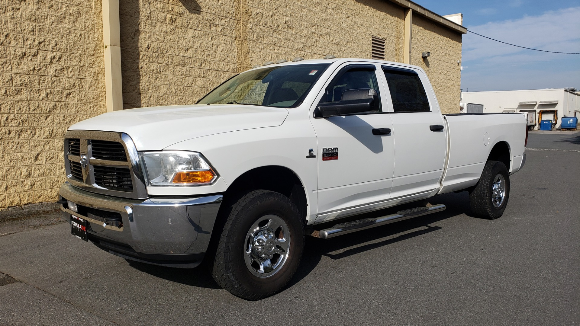 Used 2011 Ram 2500 4WD CREW CAB 169 ST / 6.7L CUMMINS / 6-SPD AUTO for sale Sold at Formula Imports in Charlotte NC 28227 1