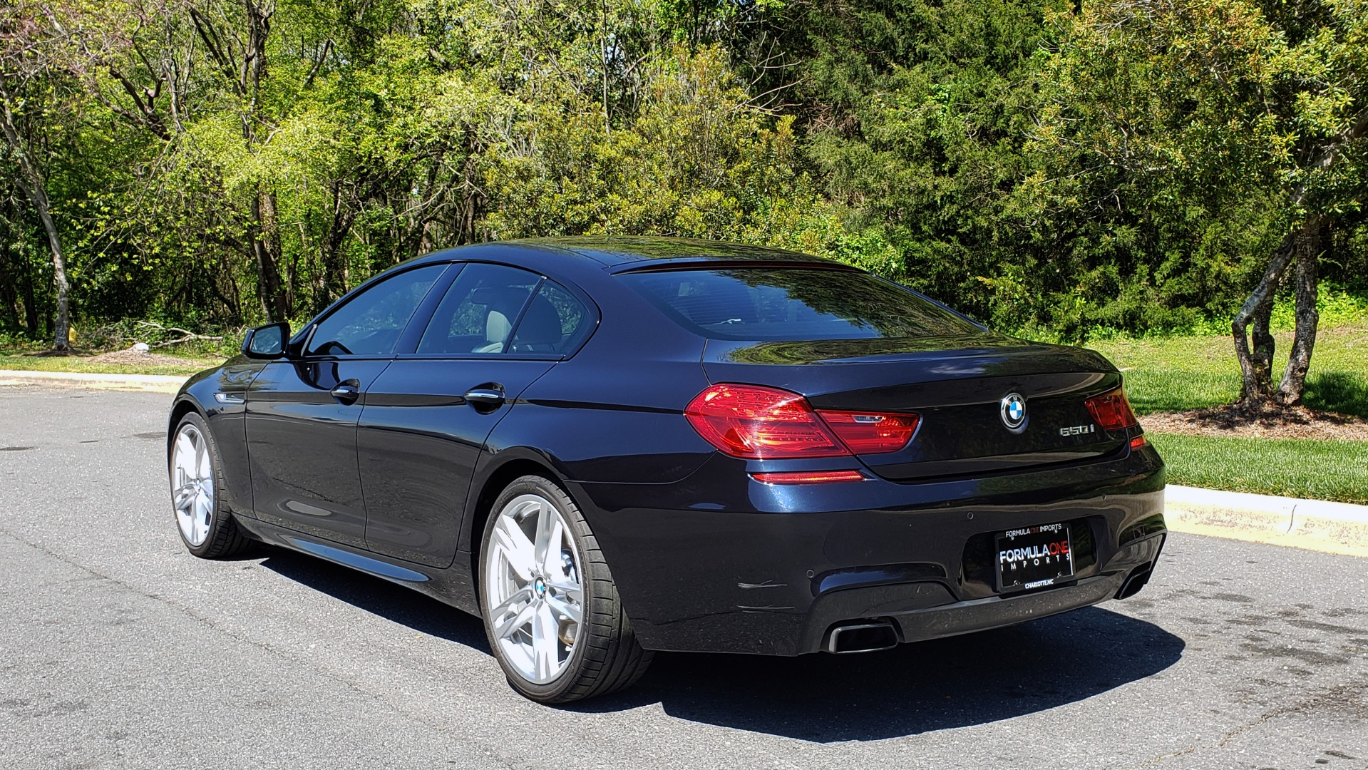 Used 2015 BMW 6 SERIES 650I GRANCOUPE M-SPORT / EXEC / DRVR ASST PLUS / LIGHTING for sale Sold at Formula Imports in Charlotte NC 28227 4