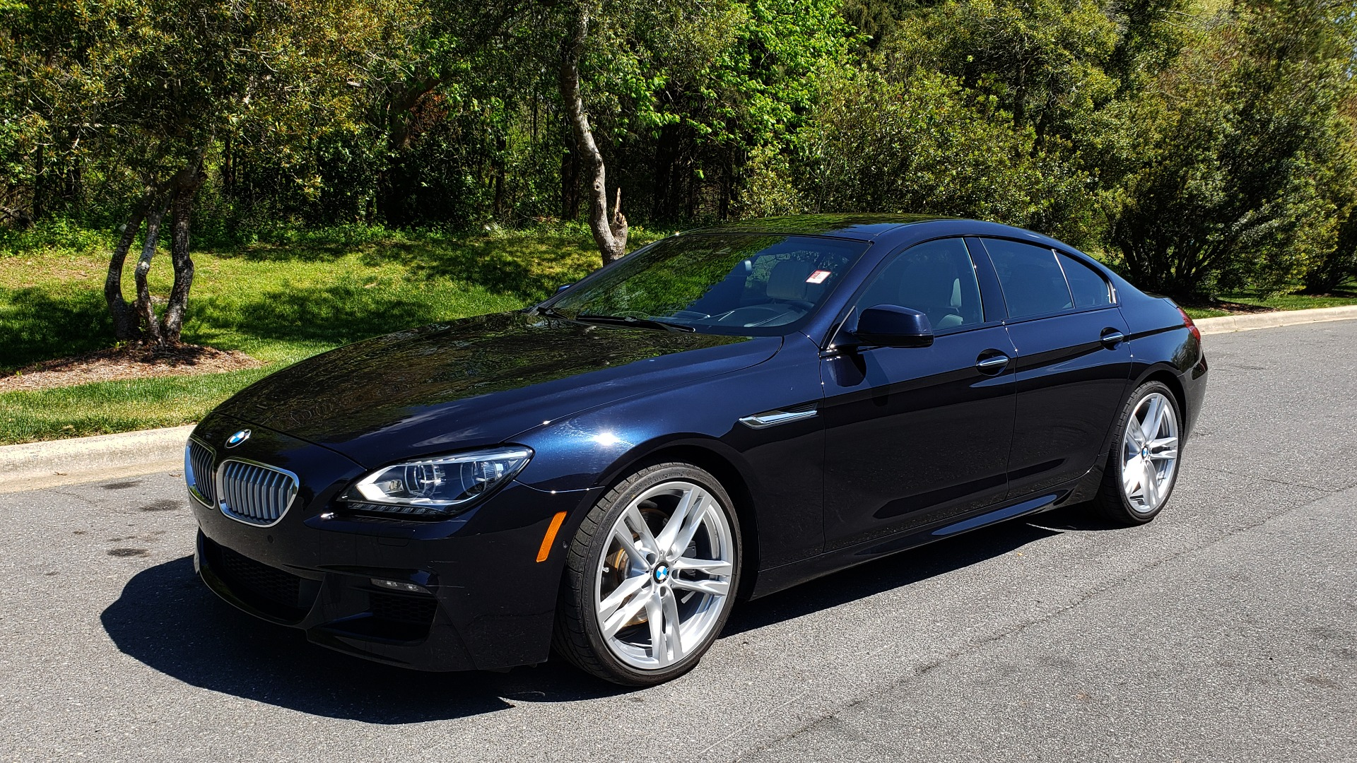 Used 2015 BMW 6 SERIES 650I GRANCOUPE M-SPORT / EXEC / DRVR ASST PLUS / LIGHTING for sale Sold at Formula Imports in Charlotte NC 28227 1