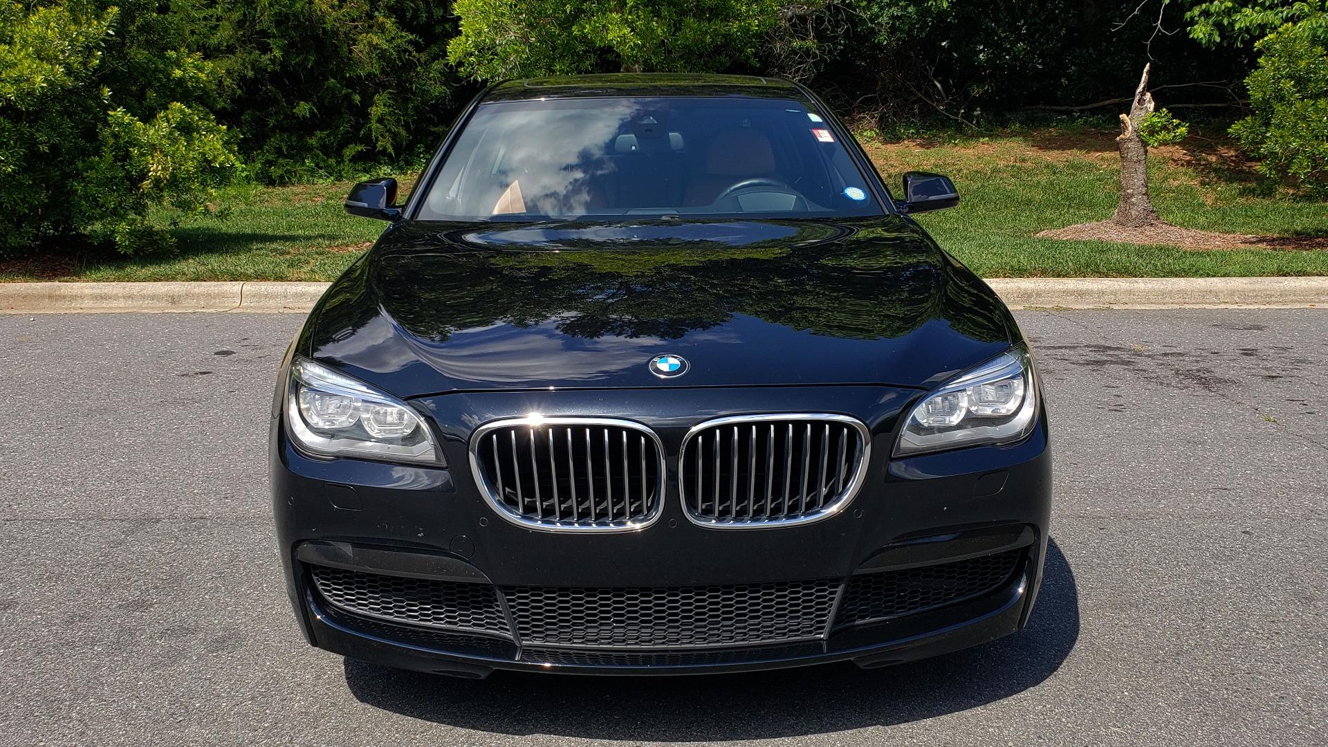 Used 2014 BMW 7 SERIES 750LI M-SPORT / EXEC PKG / DRVR ASST / LIGHTING / NAV / SUNROOF for sale Sold at Formula Imports in Charlotte NC 28227 17