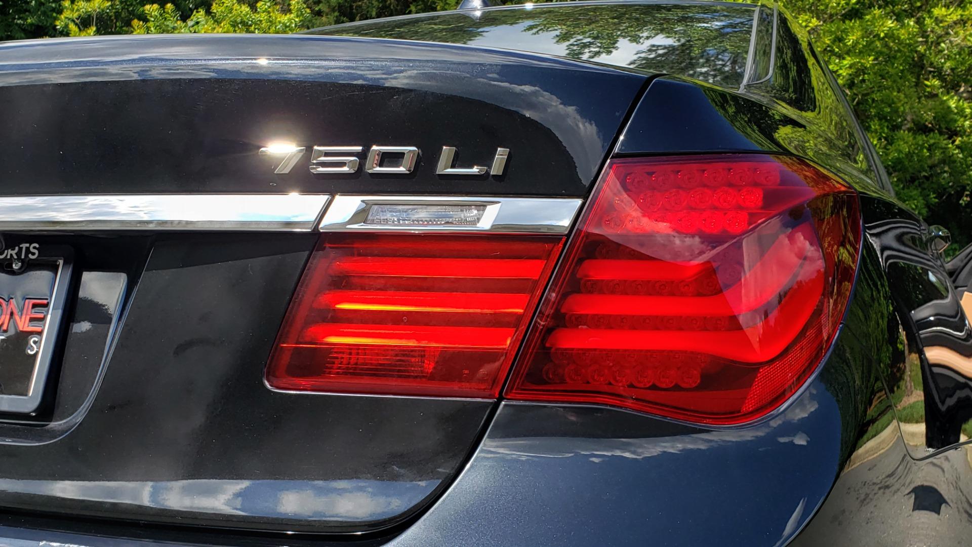 Used 2014 BMW 7 SERIES 750LI M-SPORT / EXEC PKG / DRVR ASST / LIGHTING / NAV / SUNROOF for sale Sold at Formula Imports in Charlotte NC 28227 27