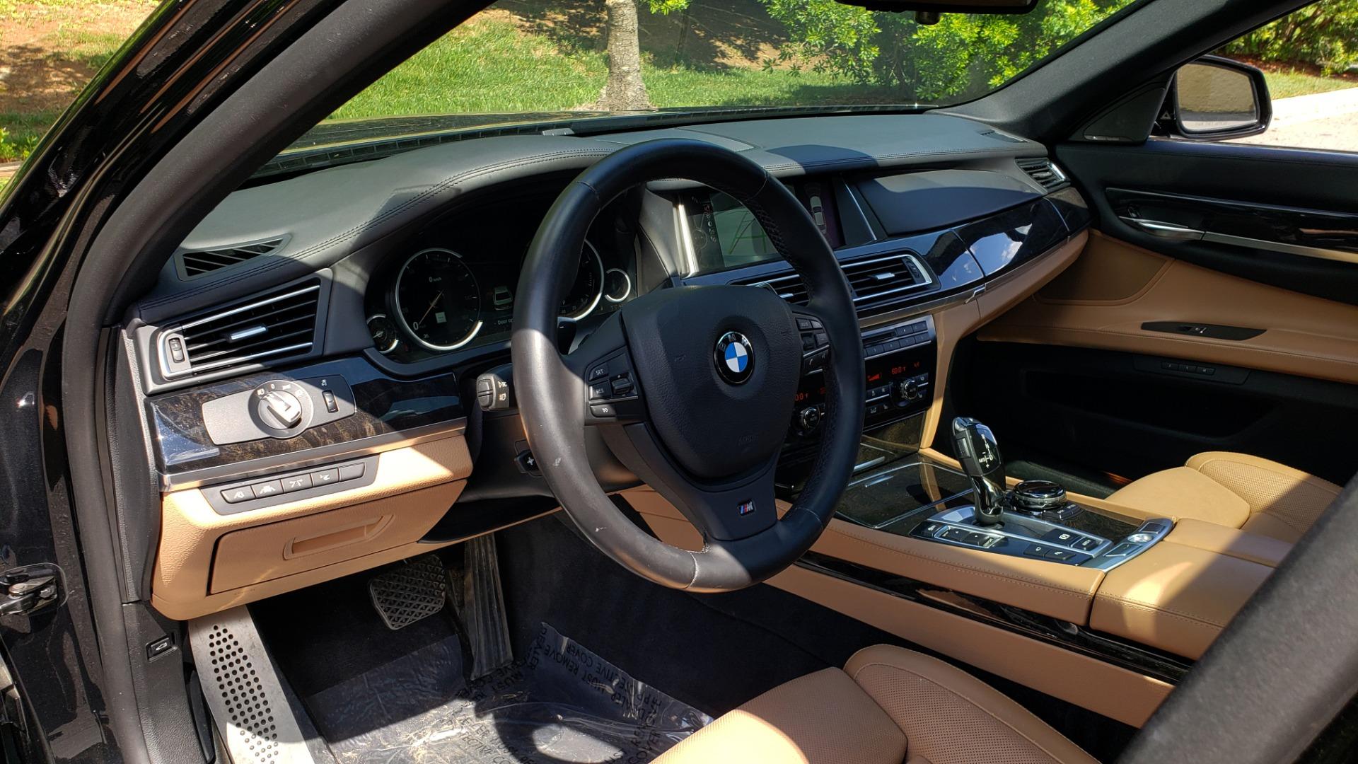 Used 2014 BMW 7 SERIES 750LI M-SPORT / EXEC PKG / DRVR ASST / LIGHTING / NAV / SUNROOF for sale Sold at Formula Imports in Charlotte NC 28227 32
