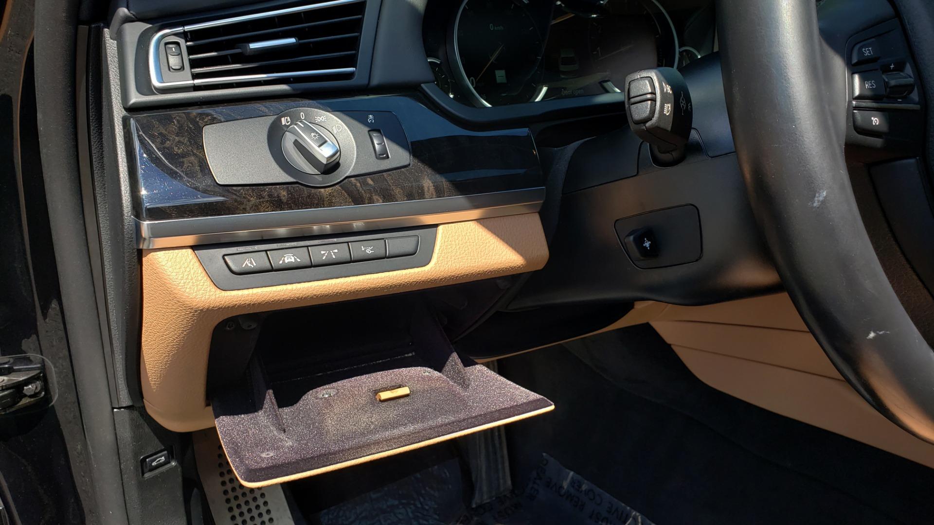 Used 2014 BMW 7 SERIES 750LI M-SPORT / EXEC PKG / DRVR ASST / LIGHTING / NAV / SUNROOF for sale Sold at Formula Imports in Charlotte NC 28227 33