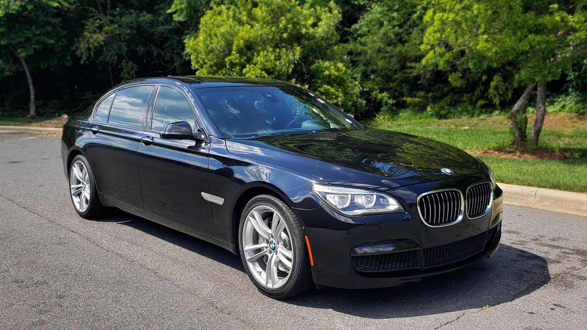 Used 2014 BMW 7 SERIES 750LI M-SPORT / EXEC PKG / DRVR ASST / LIGHTING / NAV / SUNROOF for sale Sold at Formula Imports in Charlotte NC 28227 4