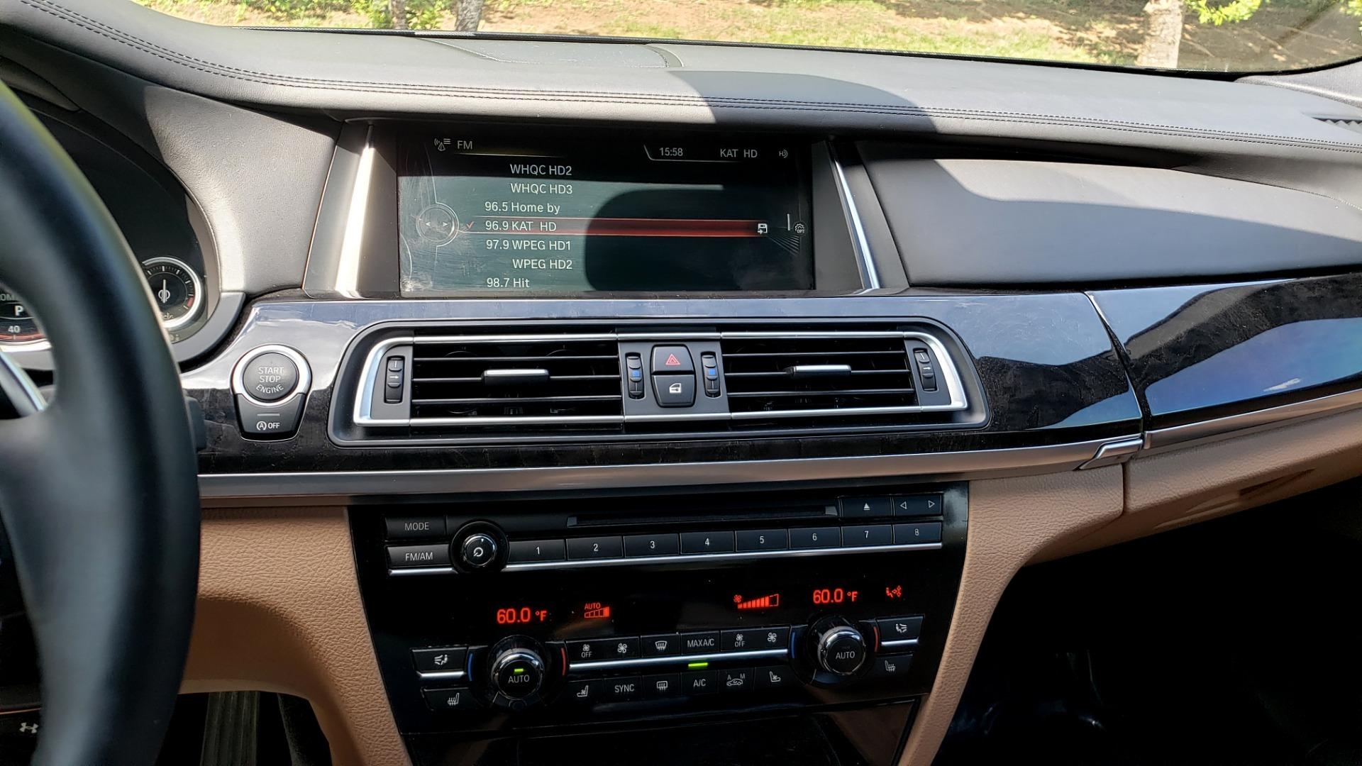 Used 2014 BMW 7 SERIES 750LI M-SPORT / EXEC PKG / DRVR ASST / LIGHTING / NAV / SUNROOF for sale Sold at Formula Imports in Charlotte NC 28227 41