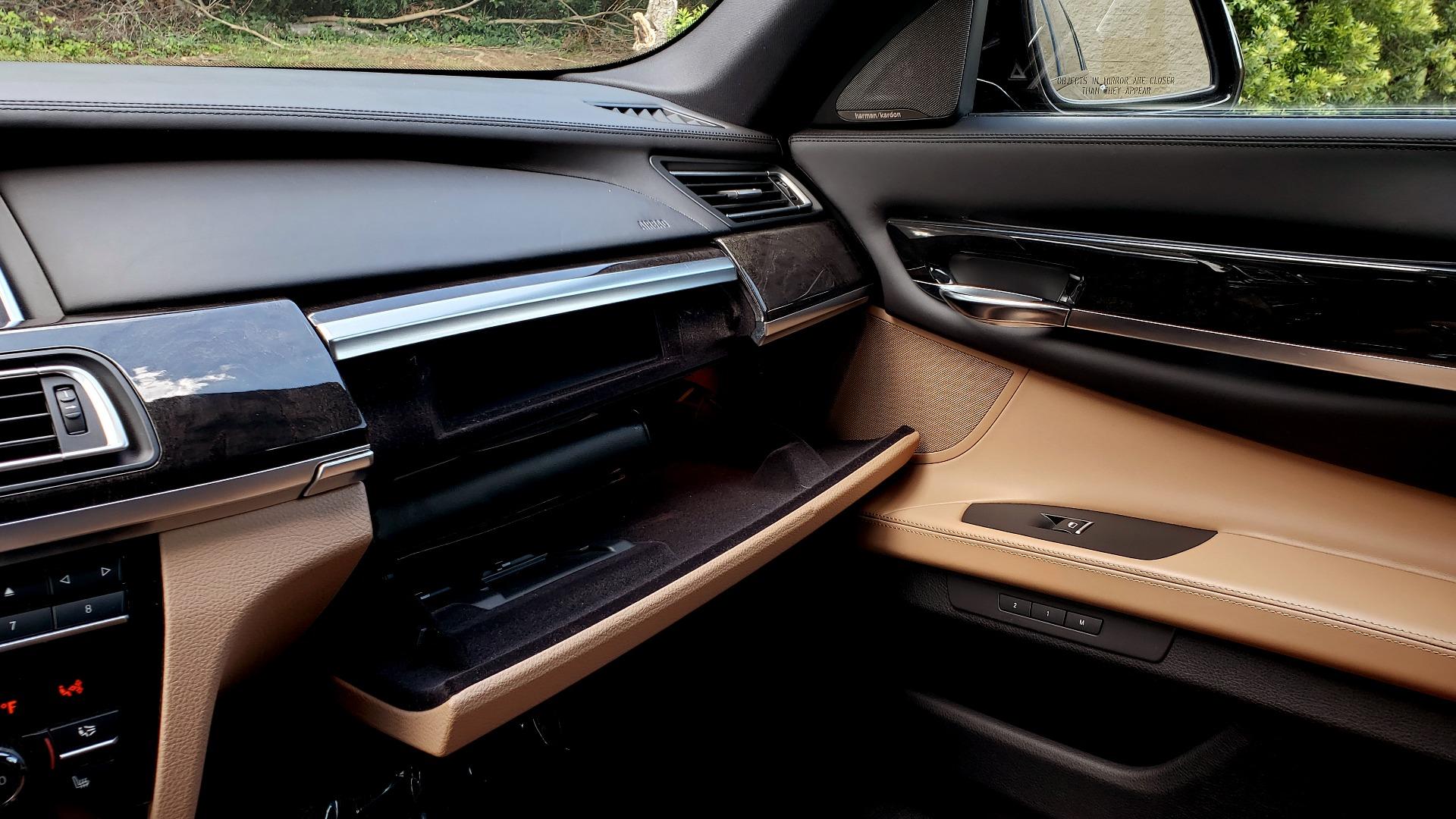 Used 2014 BMW 7 SERIES 750LI M-SPORT / EXEC PKG / DRVR ASST / LIGHTING / NAV / SUNROOF for sale Sold at Formula Imports in Charlotte NC 28227 48