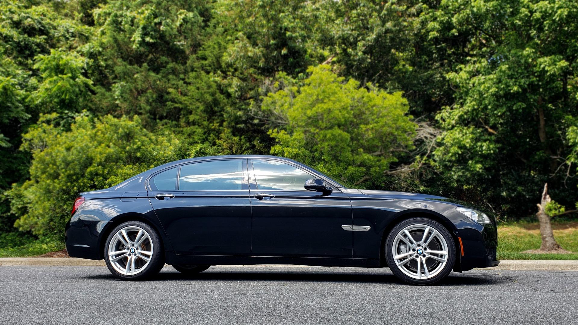 Used 2014 BMW 7 SERIES 750LI M-SPORT / EXEC PKG / DRVR ASST / LIGHTING / NAV / SUNROOF for sale Sold at Formula Imports in Charlotte NC 28227 5