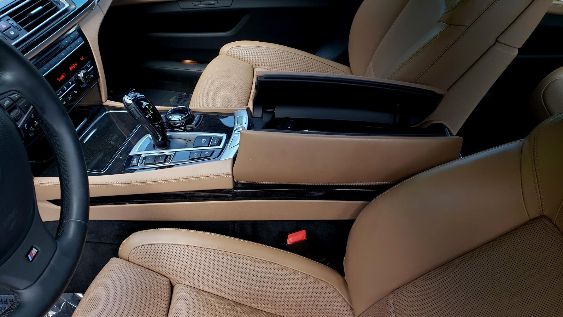 Used 2014 BMW 7 SERIES 750LI M-SPORT / EXEC PKG / DRVR ASST / LIGHTING / NAV / SUNROOF for sale Sold at Formula Imports in Charlotte NC 28227 52