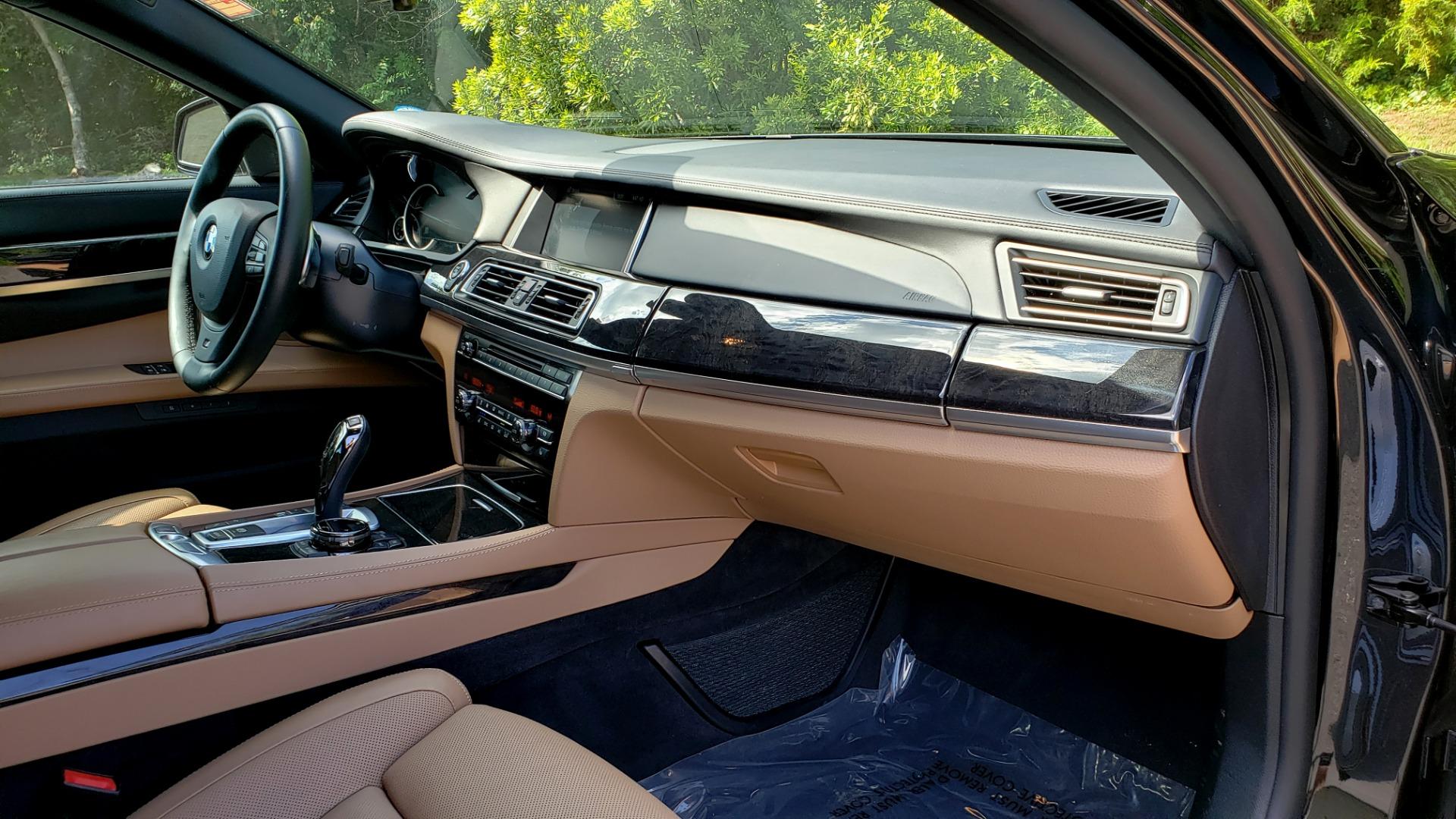 Used 2014 BMW 7 SERIES 750LI M-SPORT / EXEC PKG / DRVR ASST / LIGHTING / NAV / SUNROOF for sale Sold at Formula Imports in Charlotte NC 28227 65